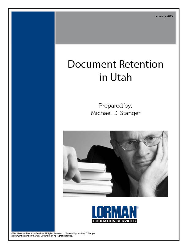 Document Retention in Utah