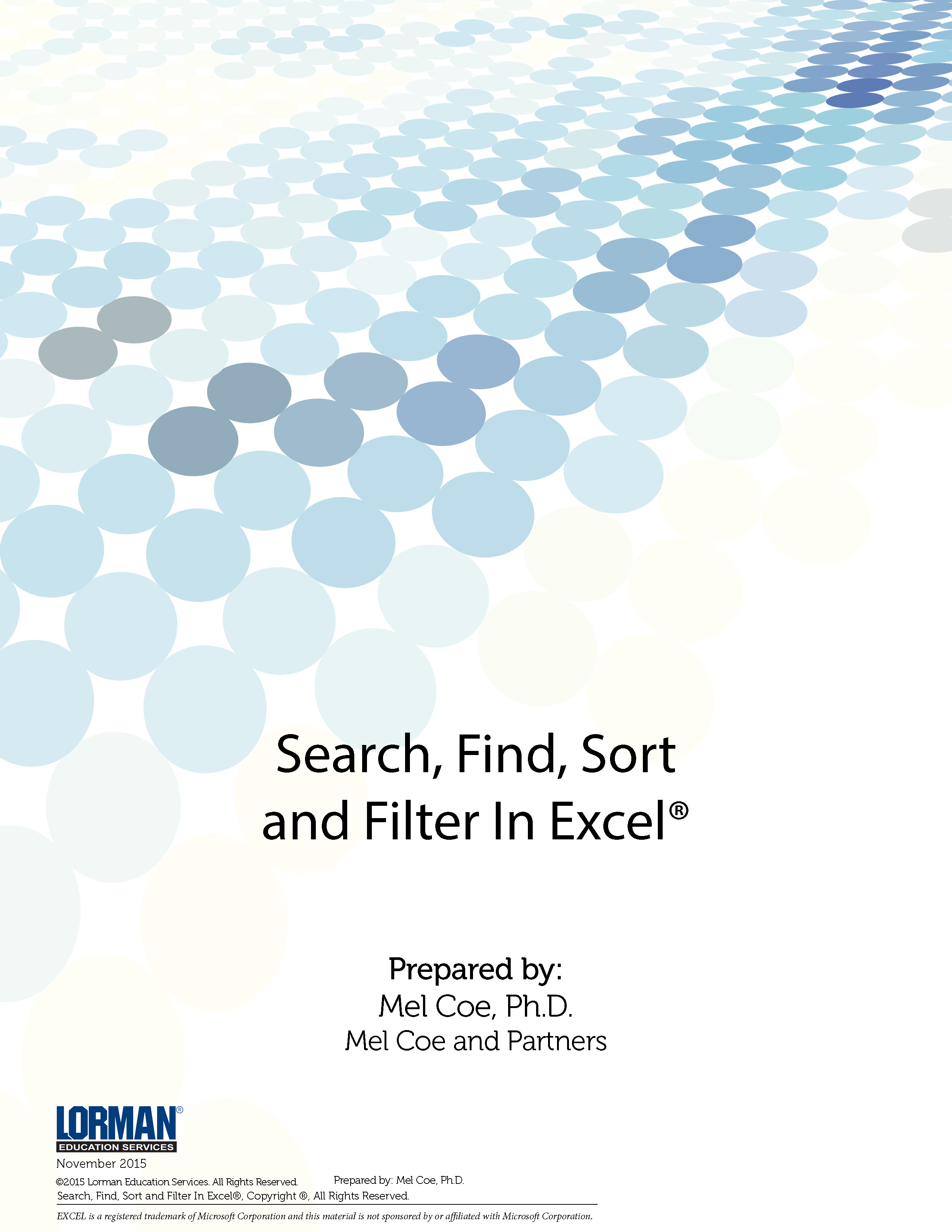 Search, Find, Sort and Filter In Excel