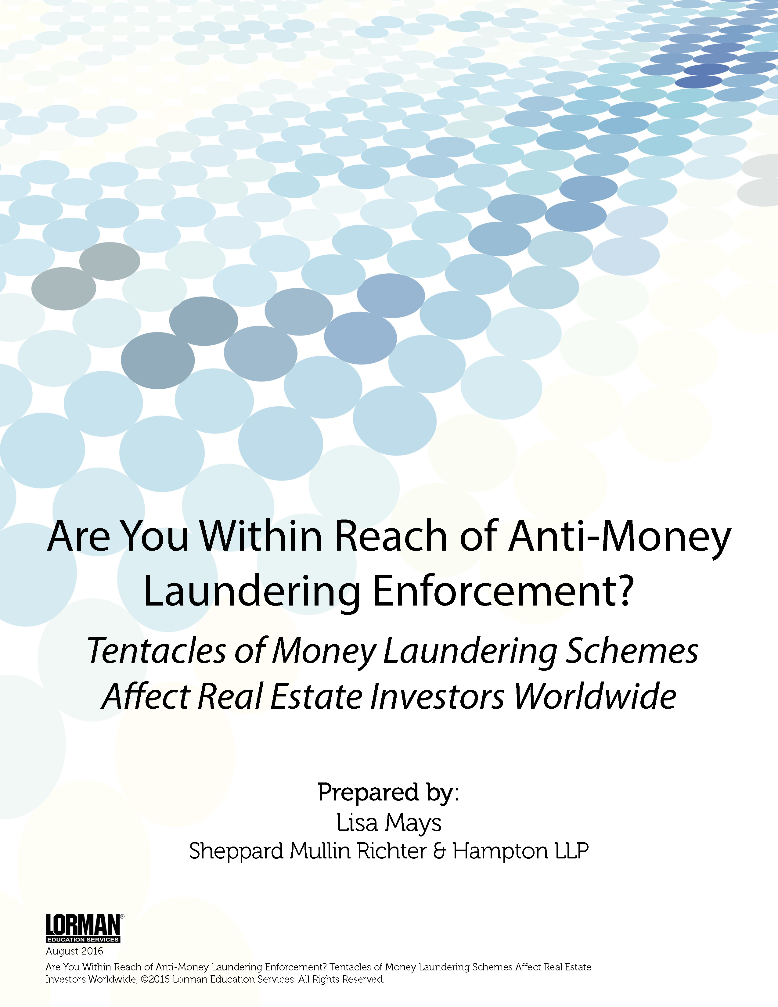 Are You Within Reach of Anti-Money Laundering Enforcement