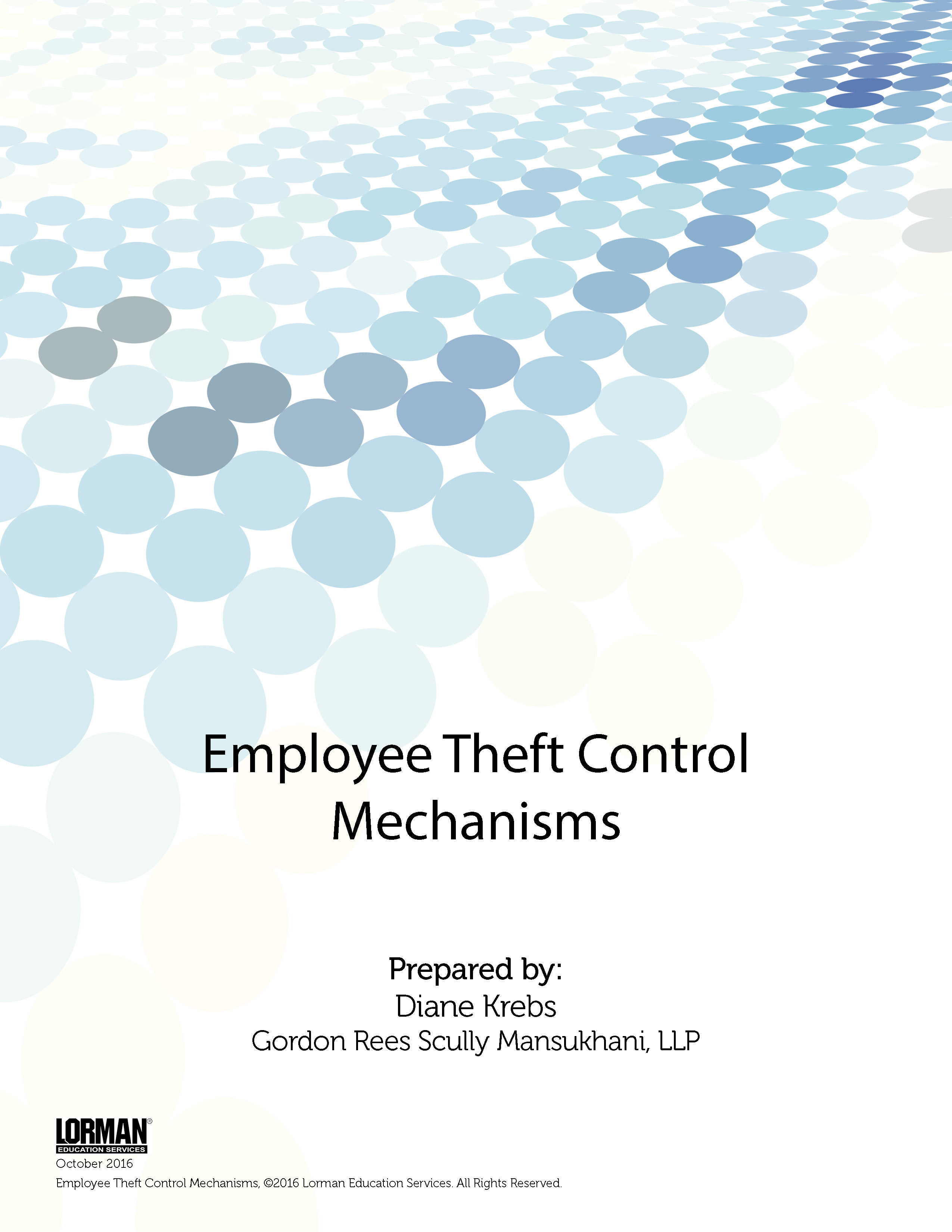 Employee Theft Control Mechanisms