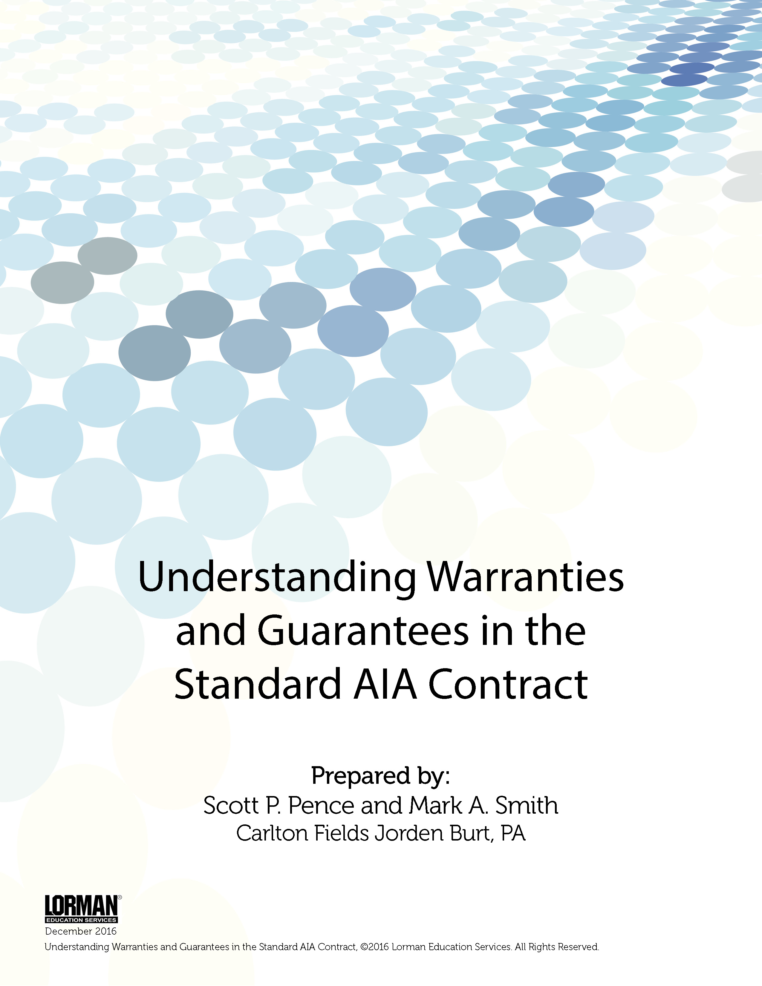 Understanding Warranties and Guarantees in the Standard AIA Contract
