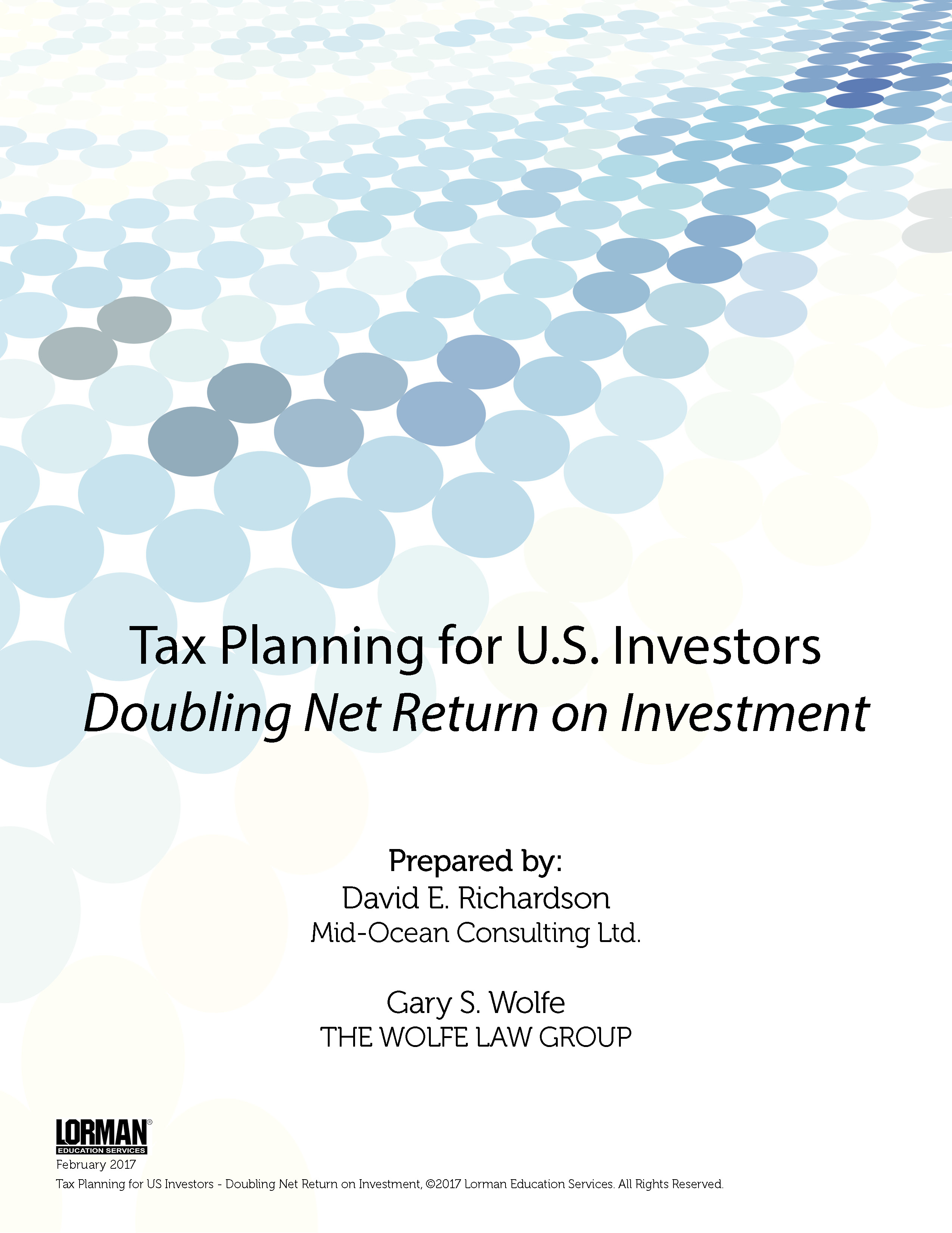 Tax Planning for US Investors - Doubling Net Return on Investment