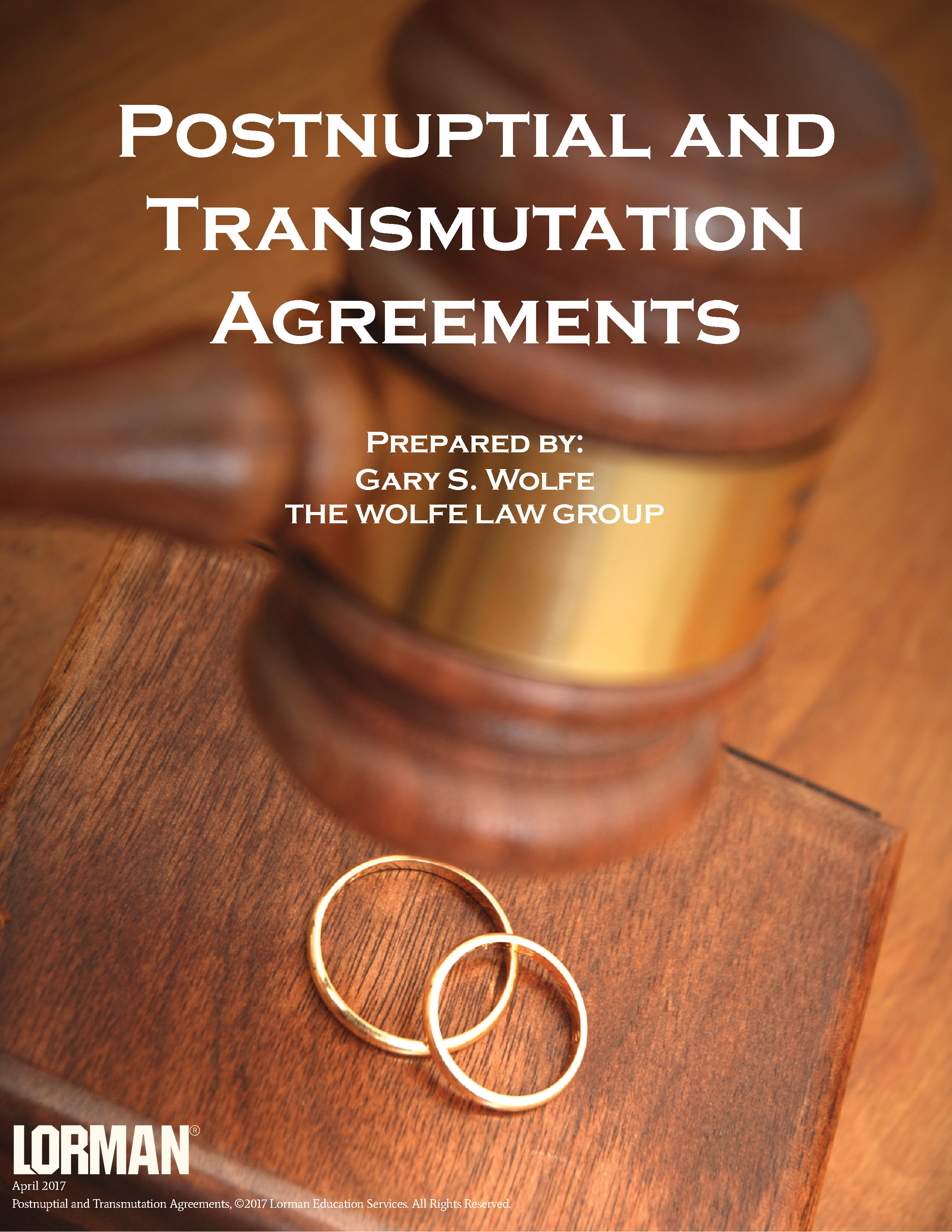 Postnuptial and Transmutation Agreements