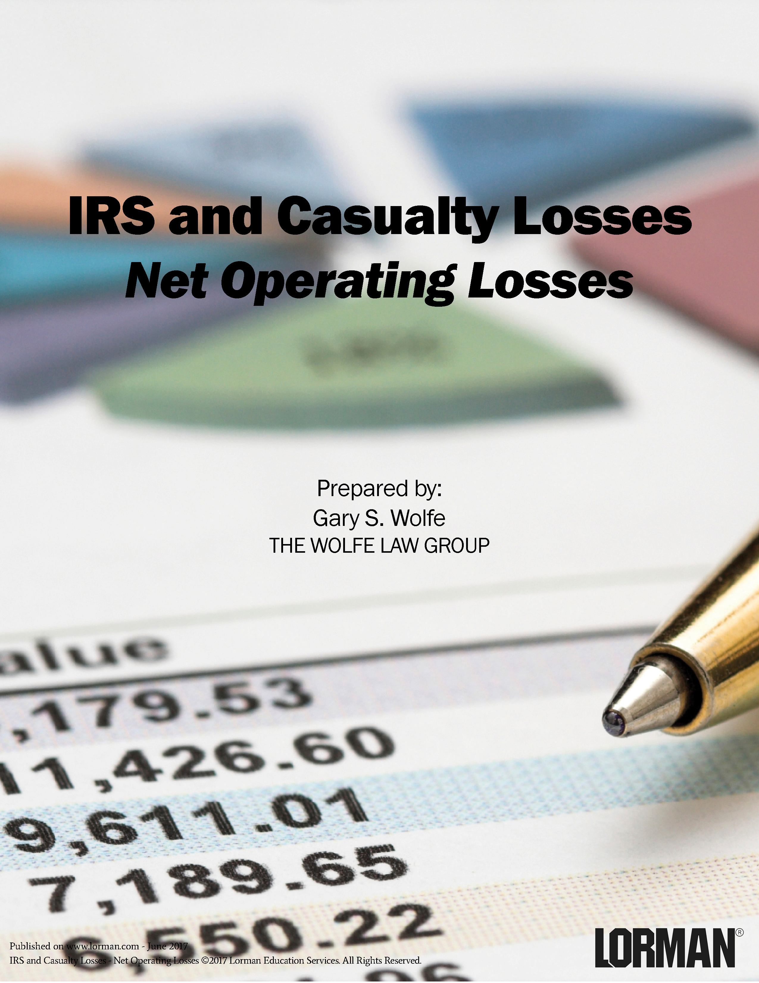 IRS and Casualty Losses - Net Operating Losses