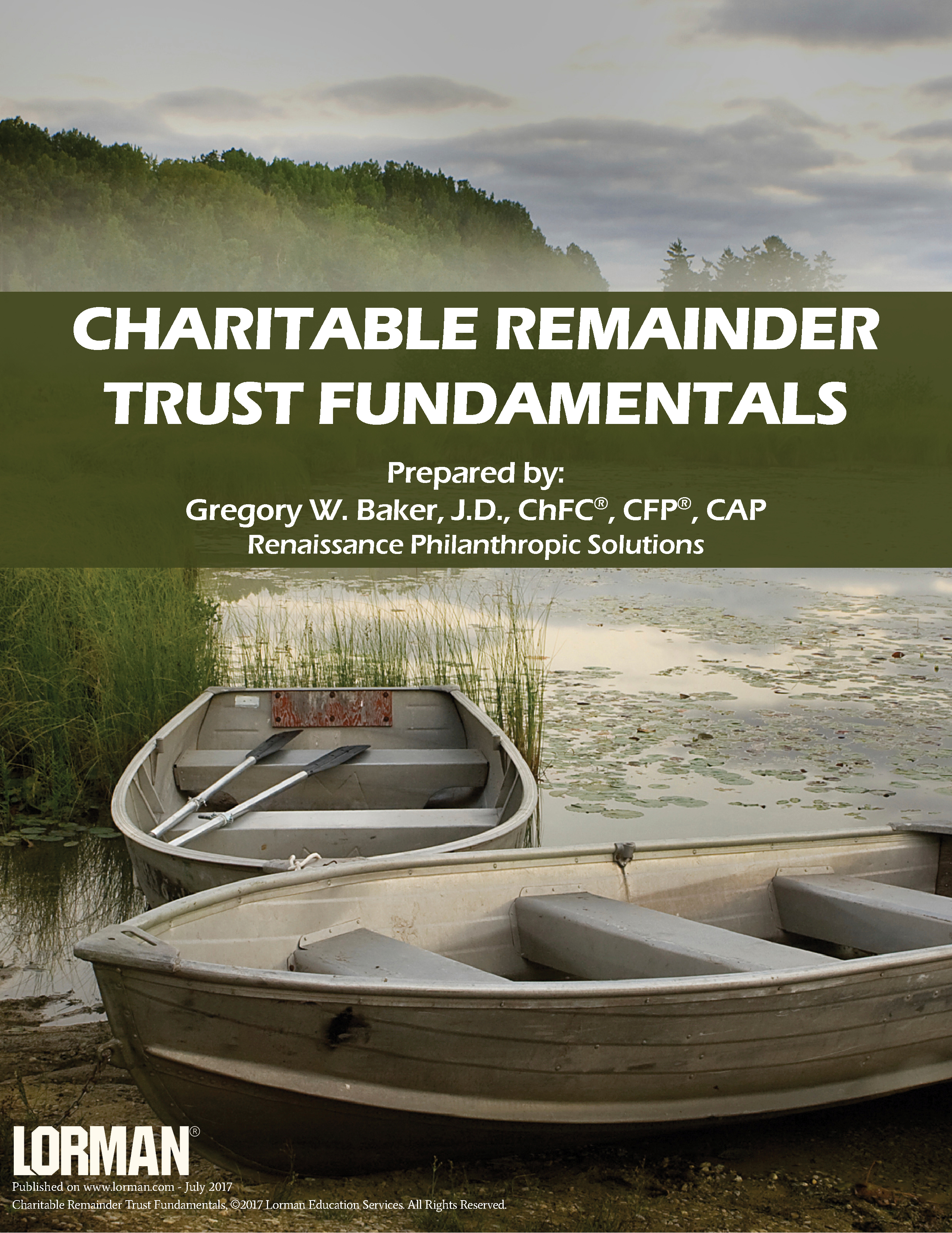 Charitable Remainder Trust Fundamentals