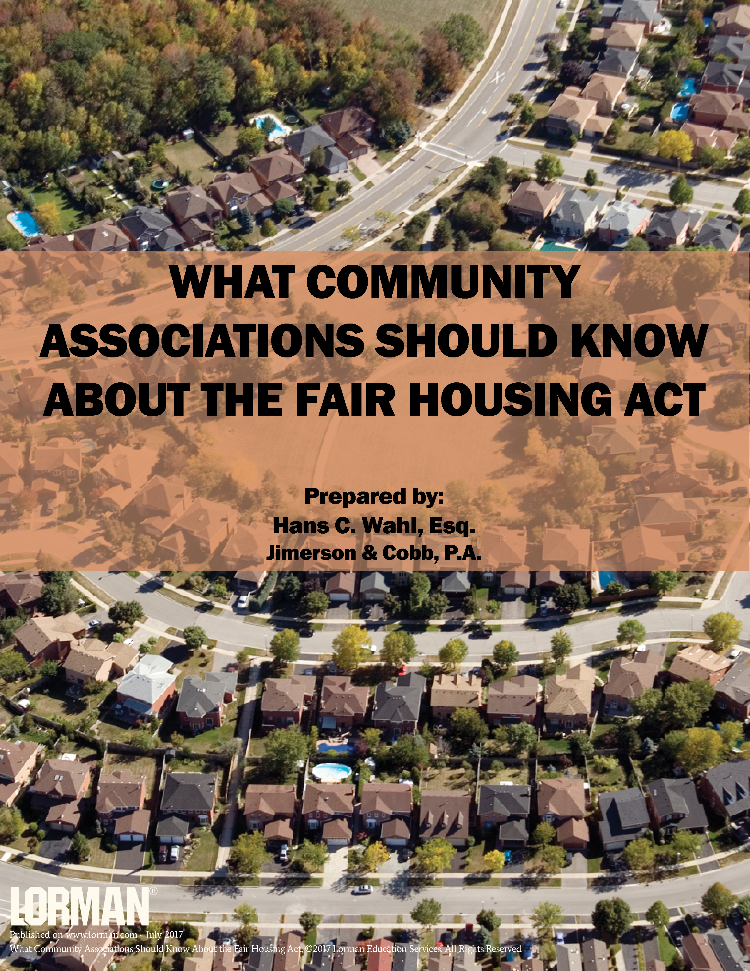 What Community Associations Should Know About the Fair Housing Act