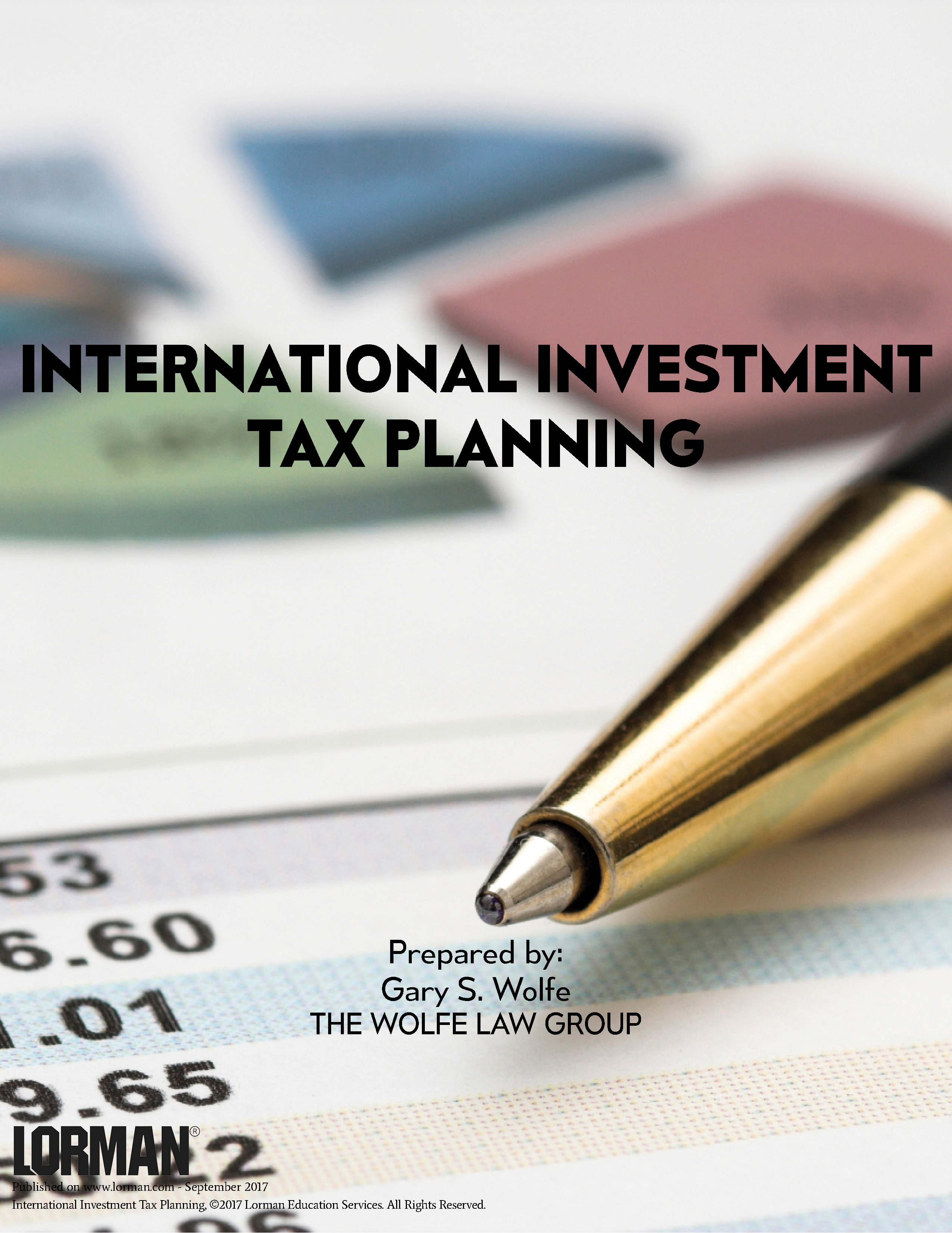 International Investment Tax Planning