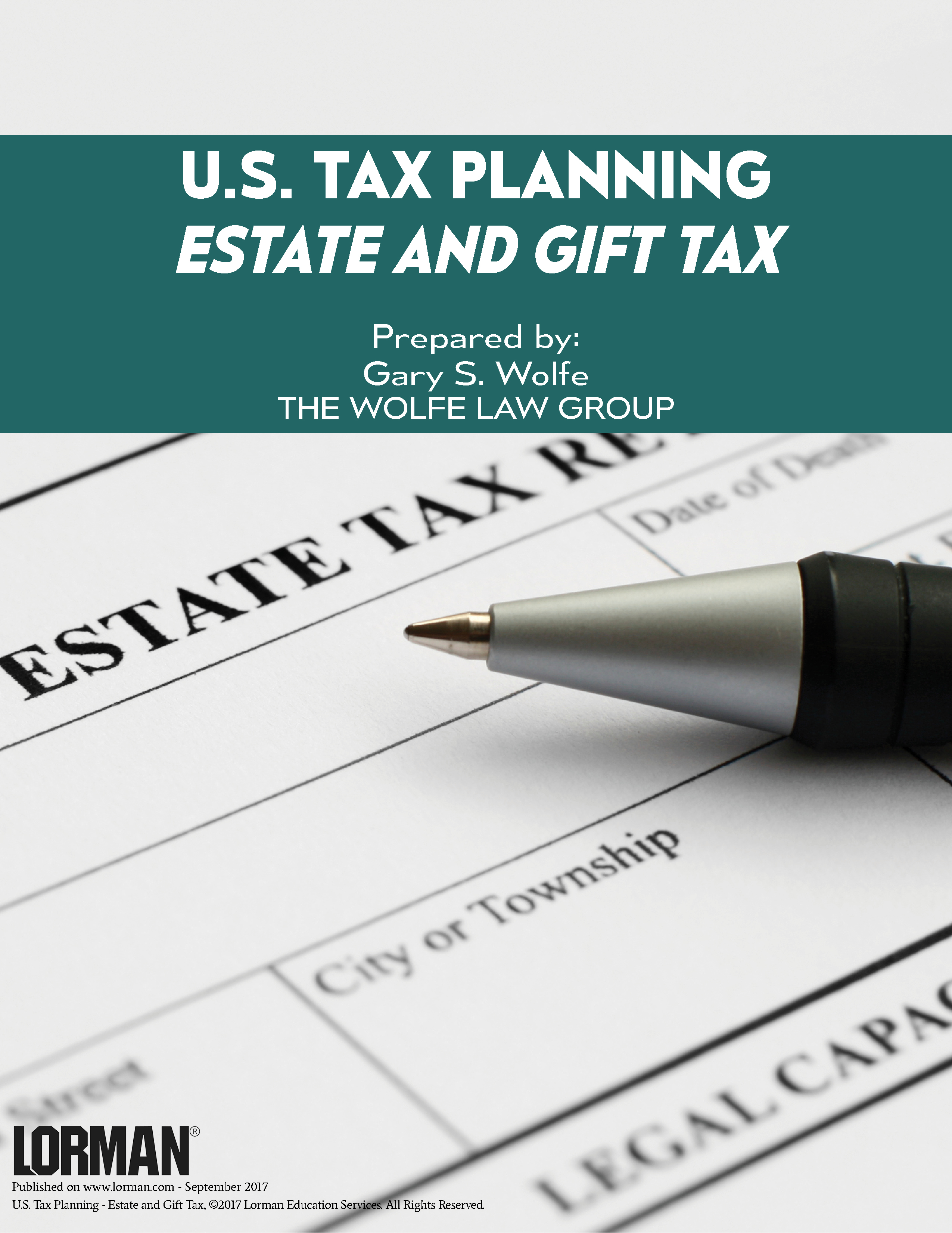 U.S. Tax Planning - Estate and Gift Tax