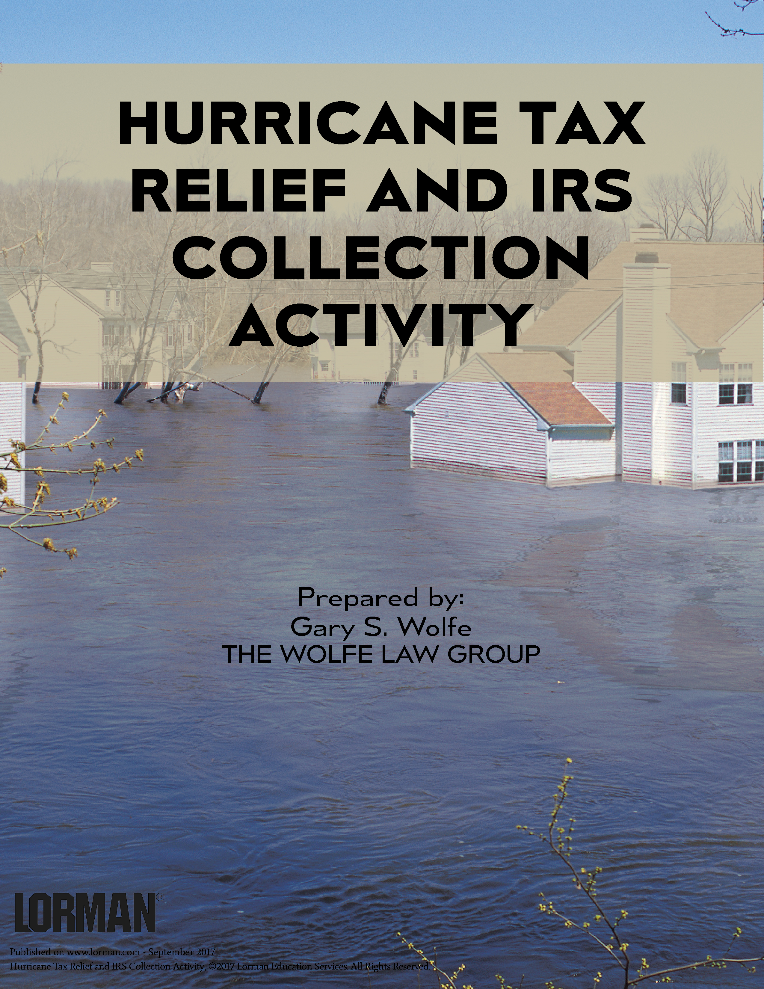 Hurricane Tax Relief And Irs Collection Activity