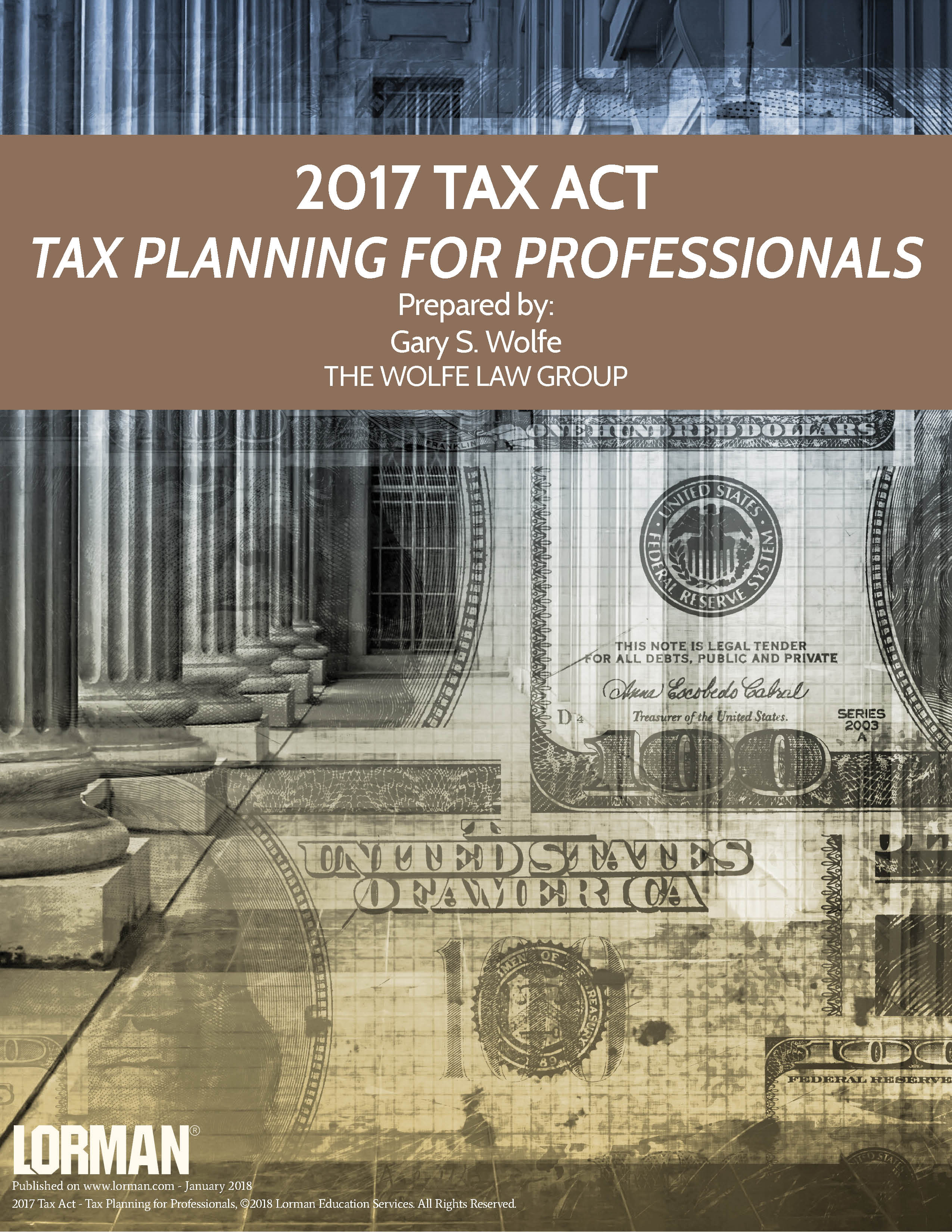 2017 Tax Act - Tax Planning for Professionals — White Paper