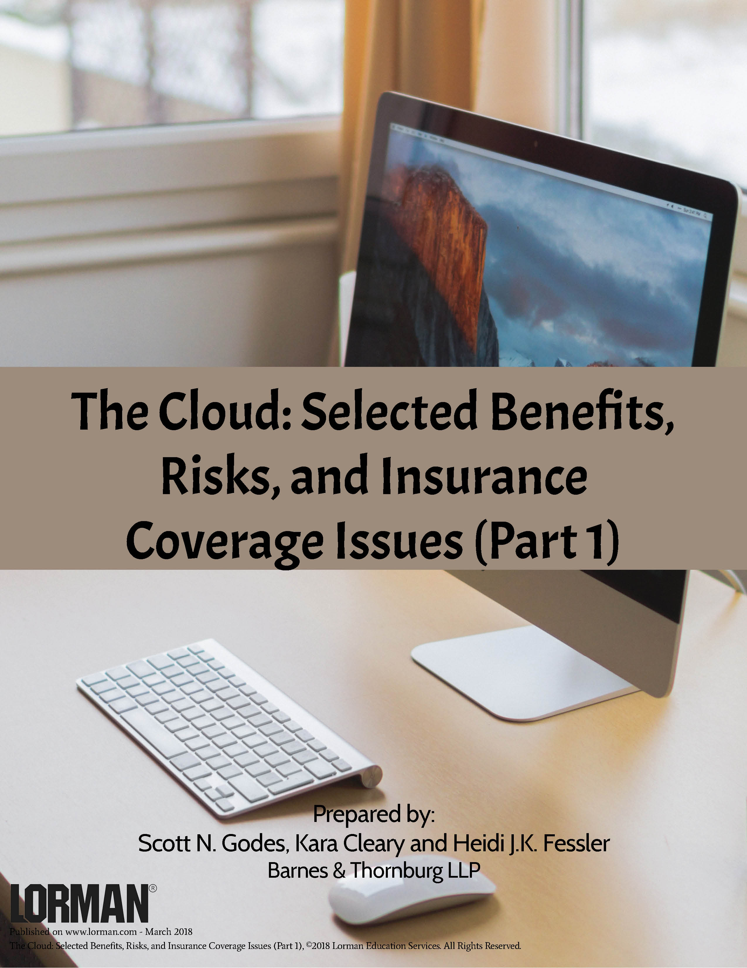 The Cloud: Selected Benefits, Risks, and Insurance Coverage Issues (Part 1)