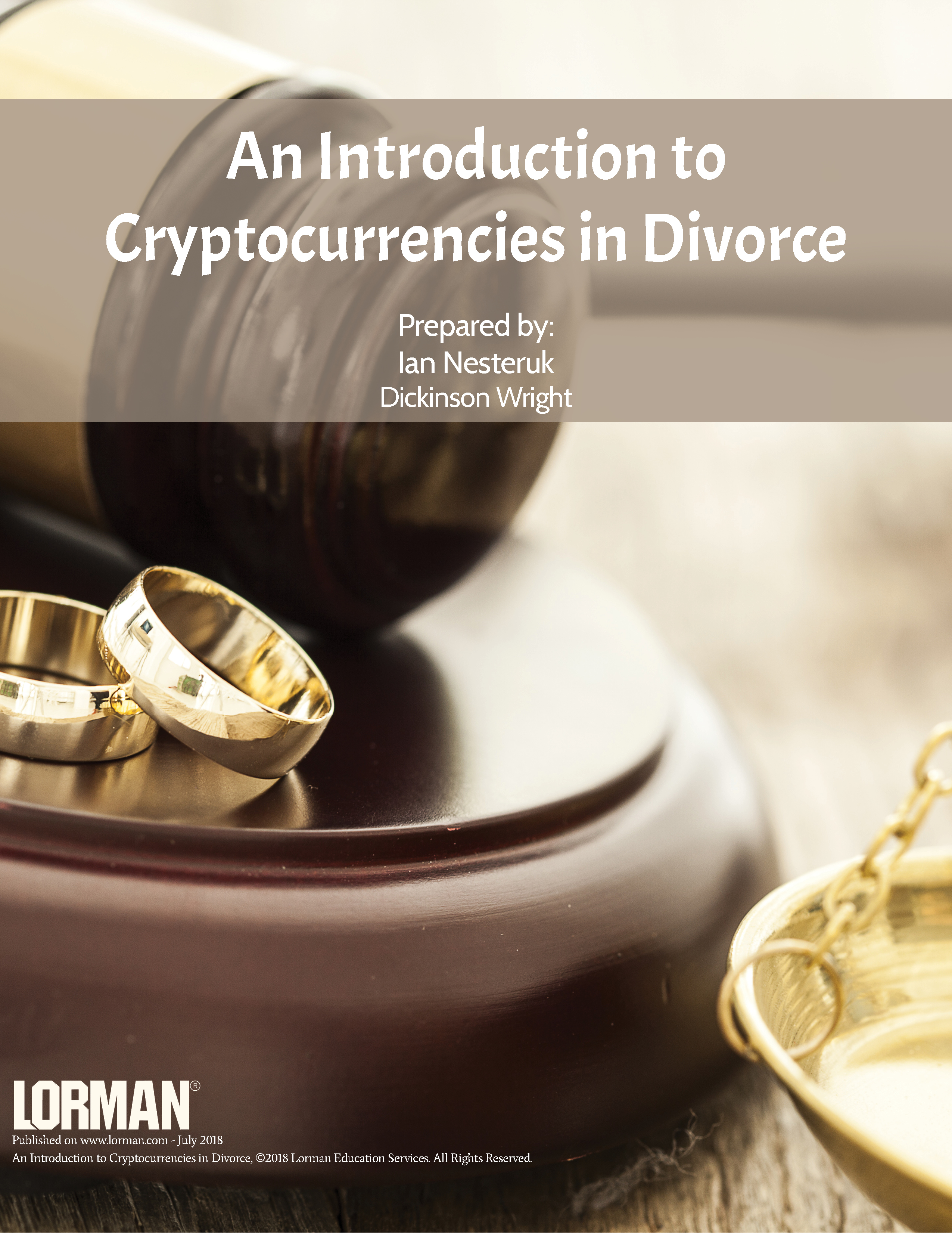 An Introduction to Cryptocurrencies in Divorce