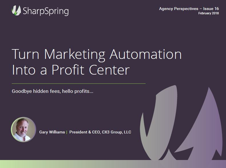 Turn Marketing Automation into a Killer Profit Center