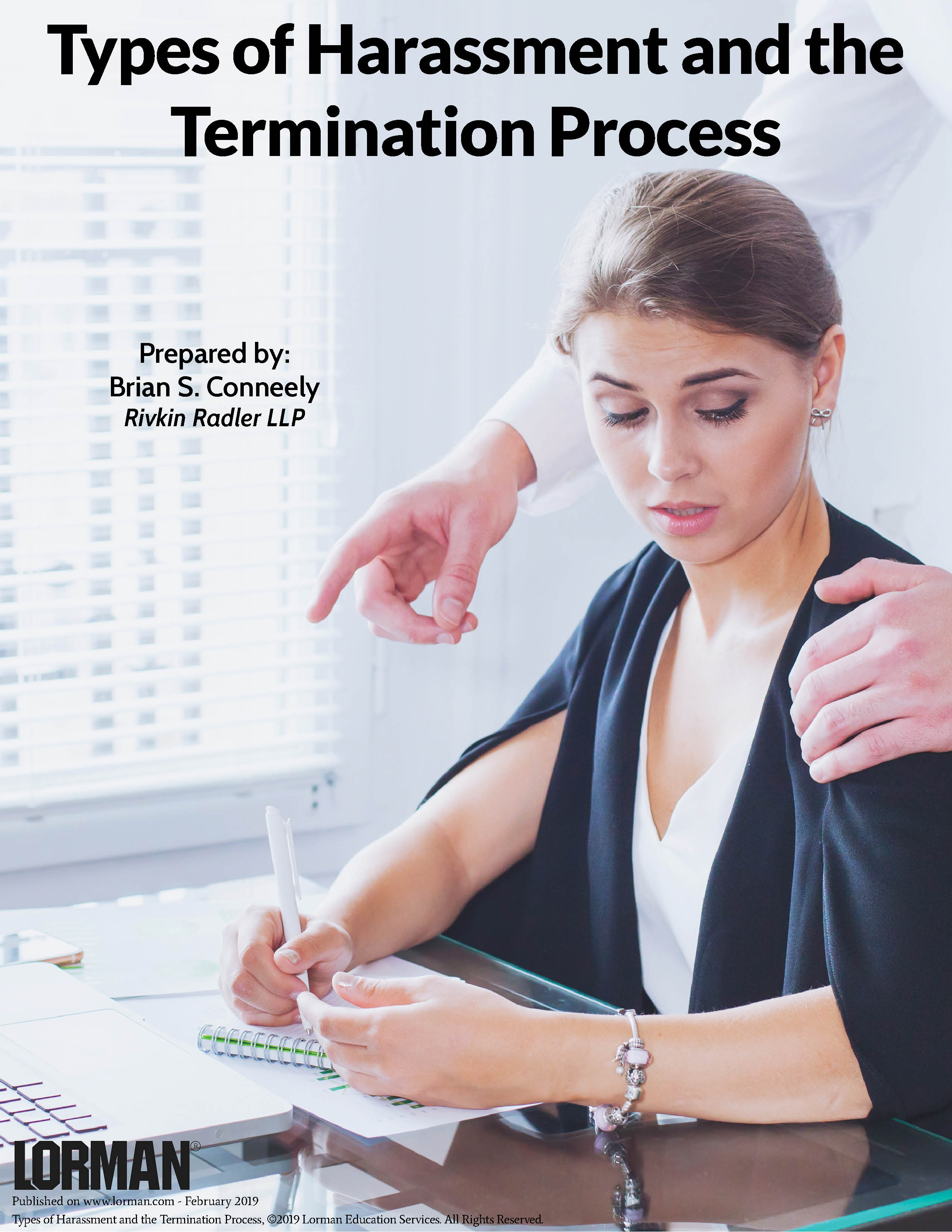 Types of Harassment and the Termination Process — White