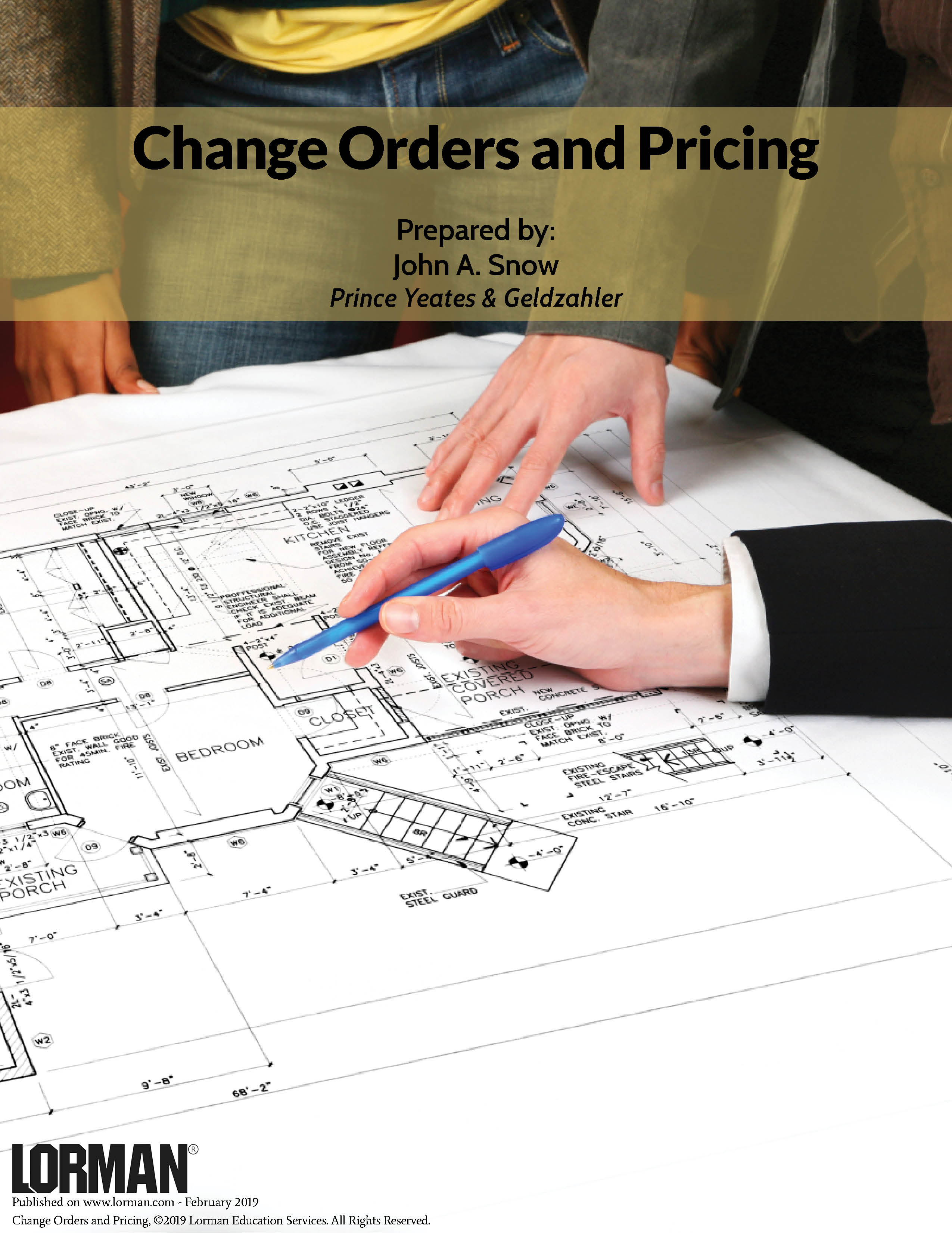 Change Orders and Pricing