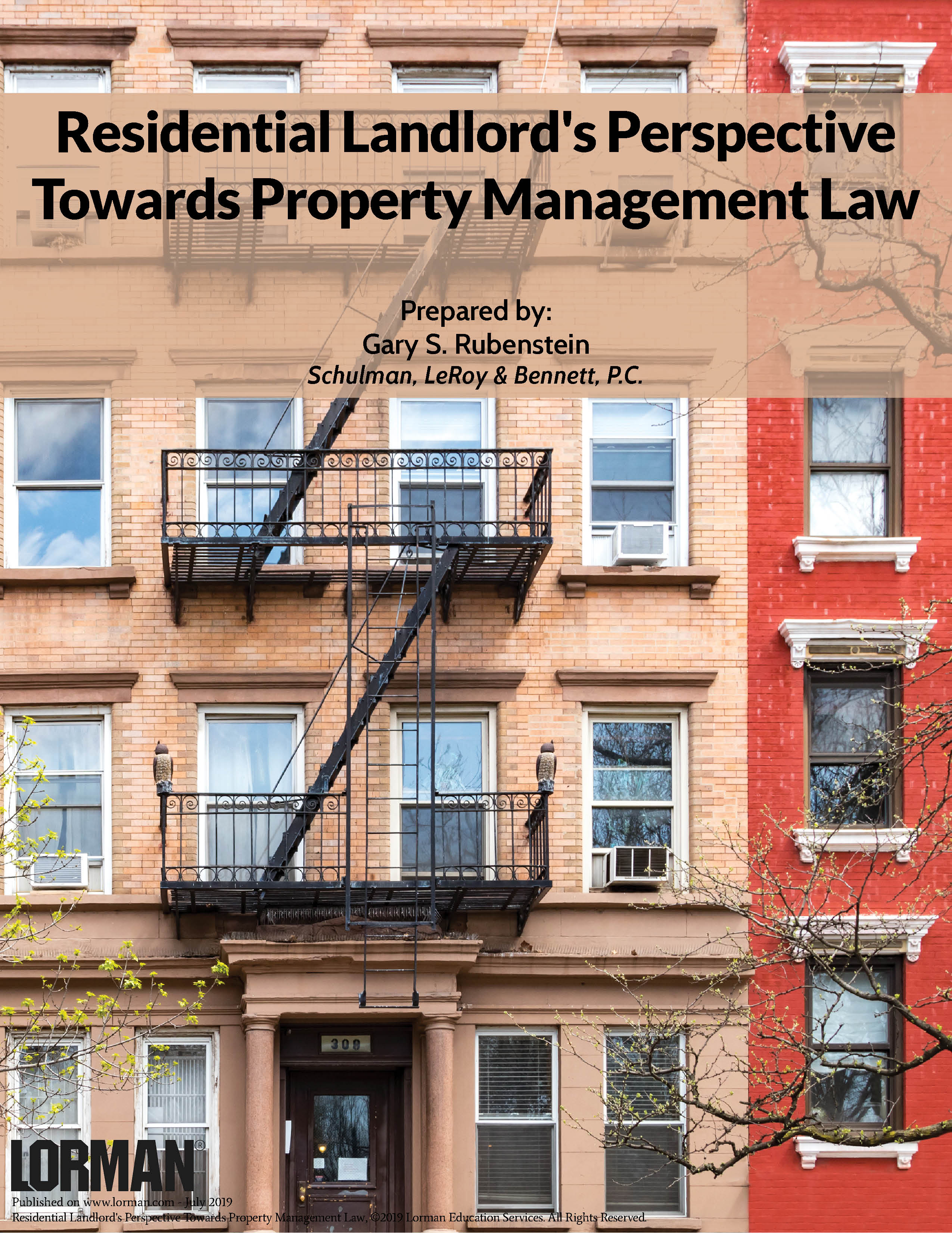 Residential Landlord's Perspective Towards Property Management Law