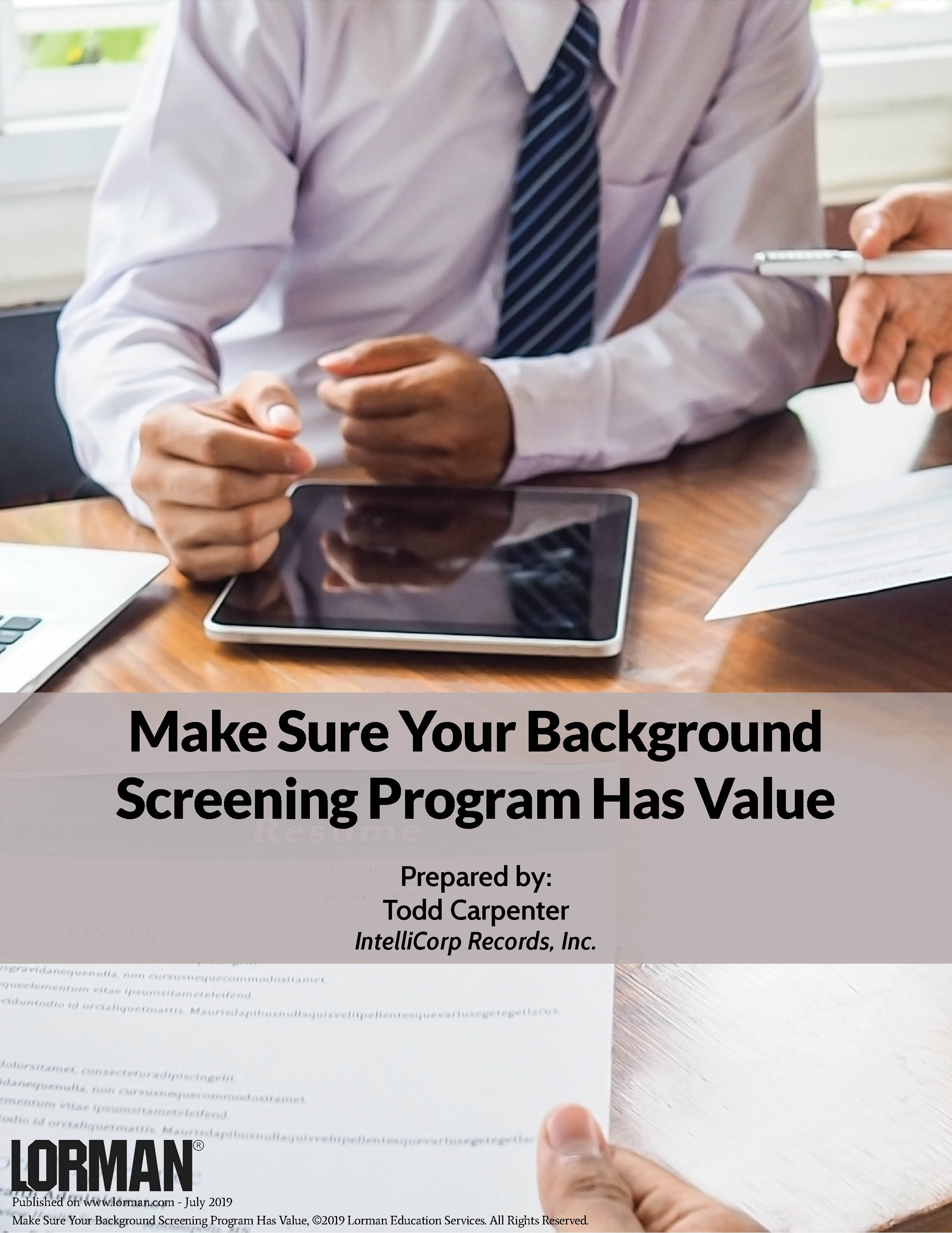 Make Sure Your Background Screening Program Has Value