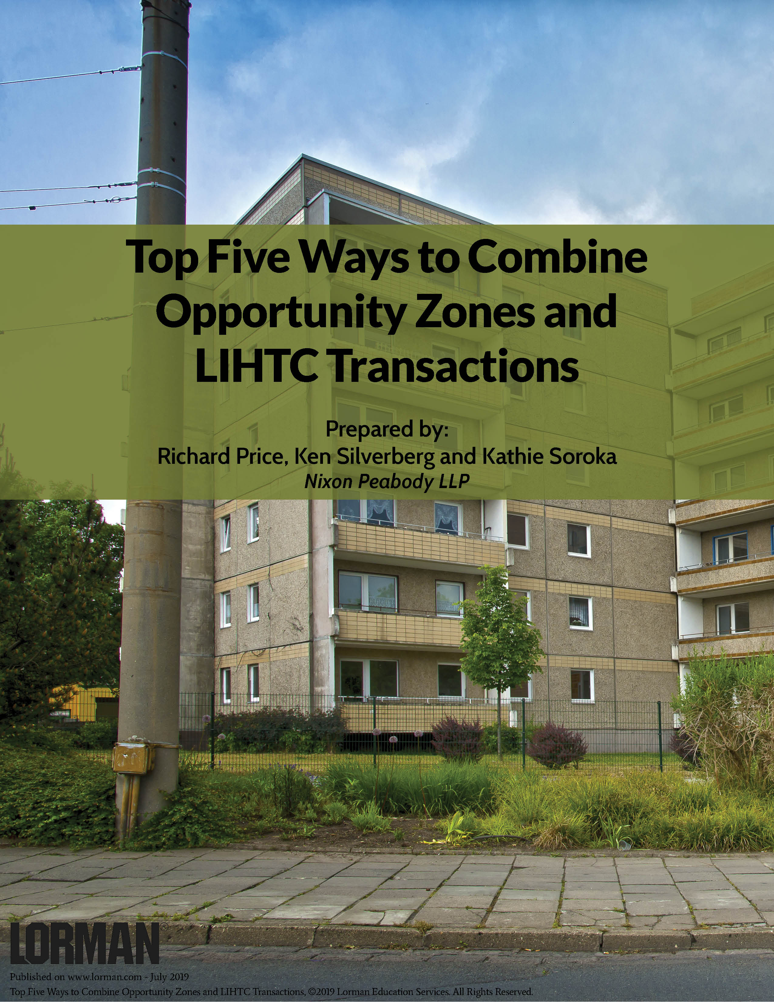 Top Five Ways to Combine Opportunity Zones and LIHTC Transactions