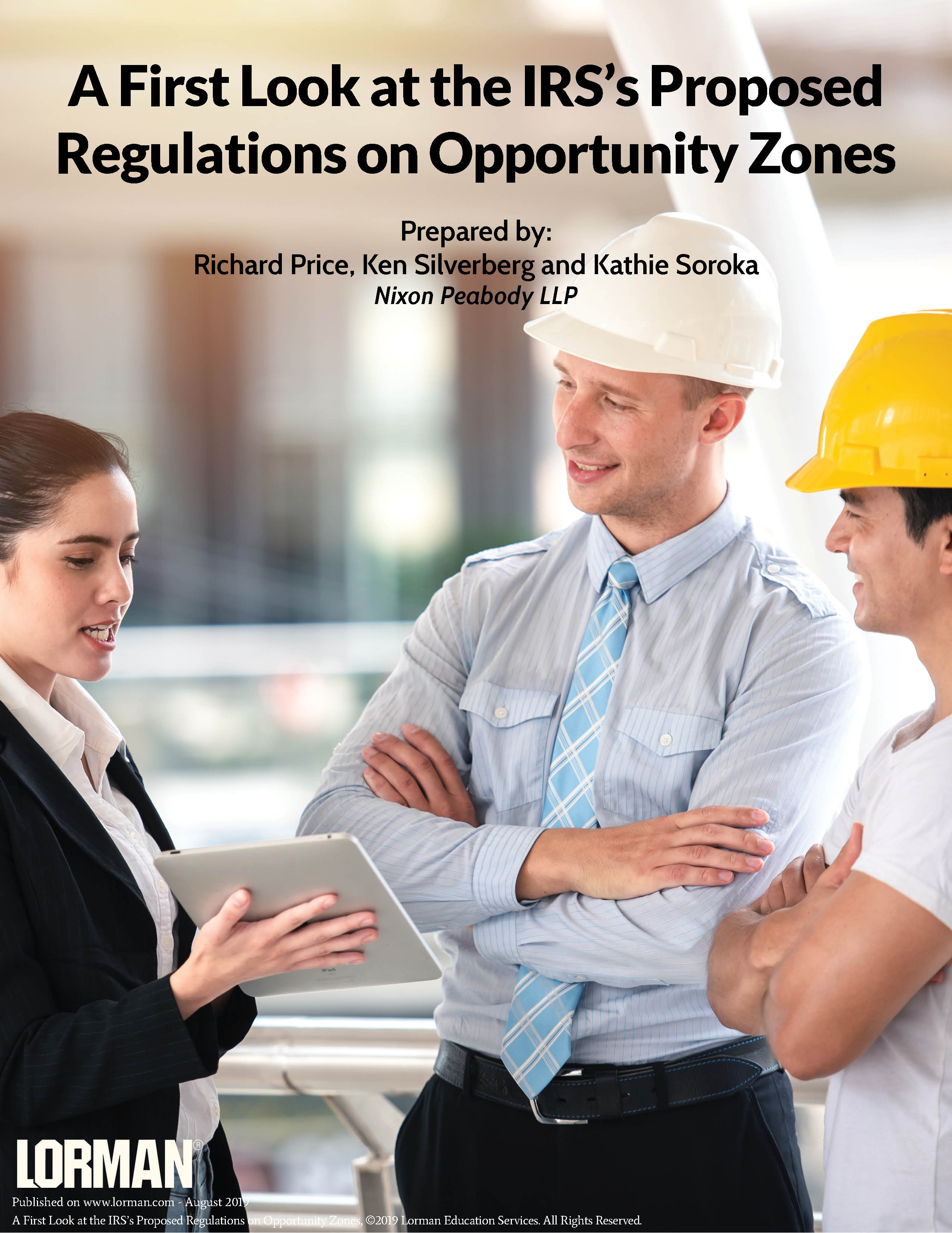 A First Look at the IRS's Proposed Regulations on Opportunity Zones