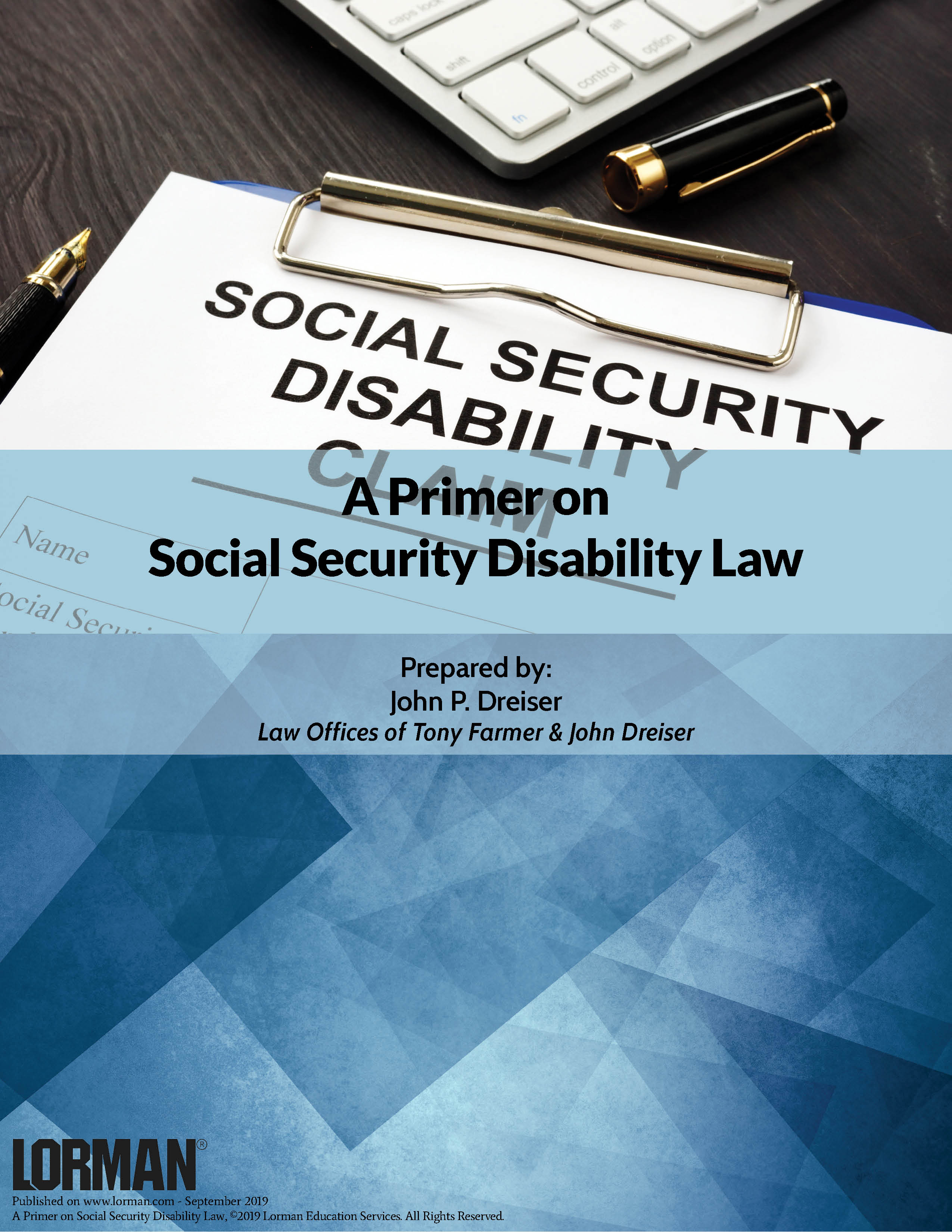 A Primer on Social Security Disability Law