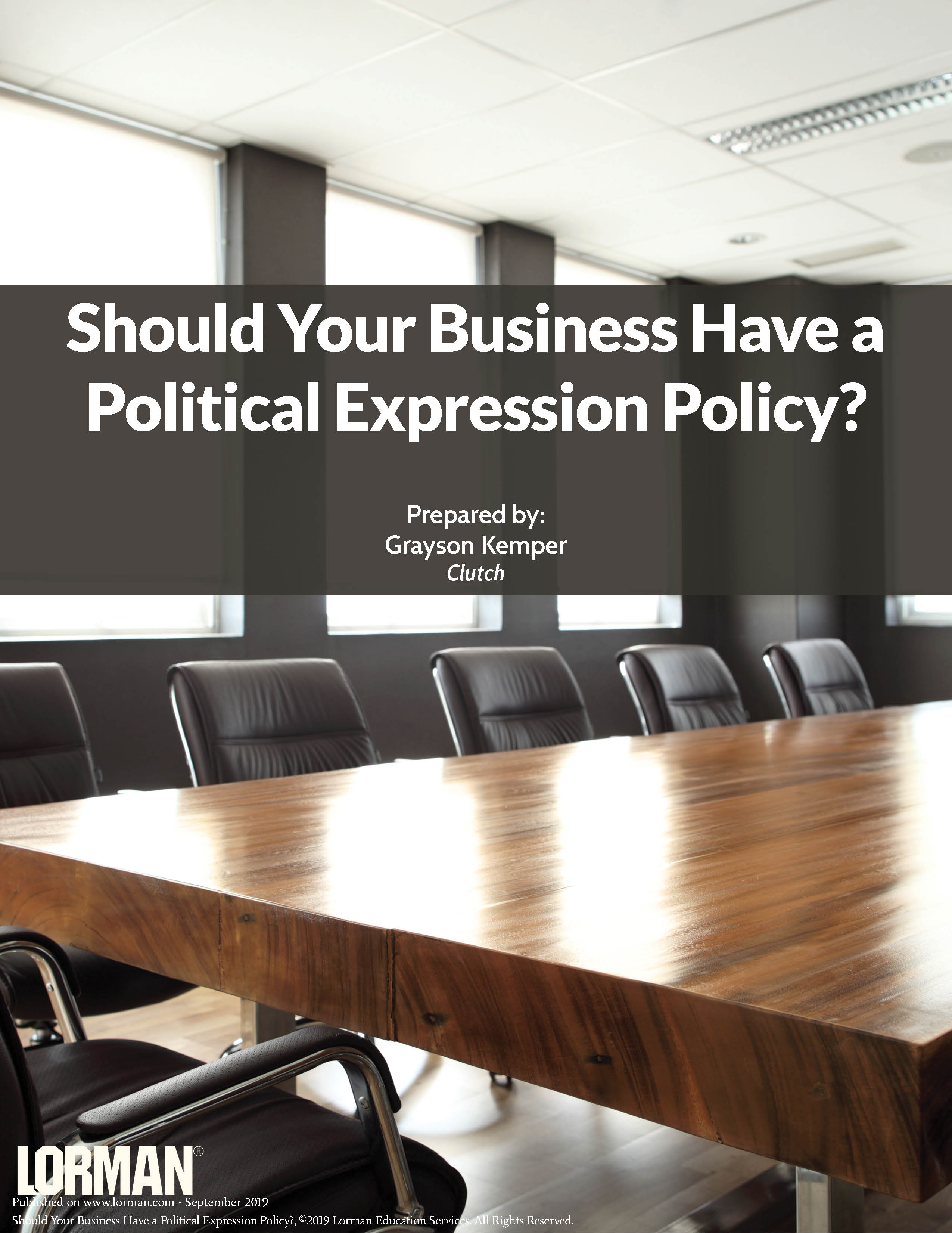 Should Your Business Have a Political Expression Policy?