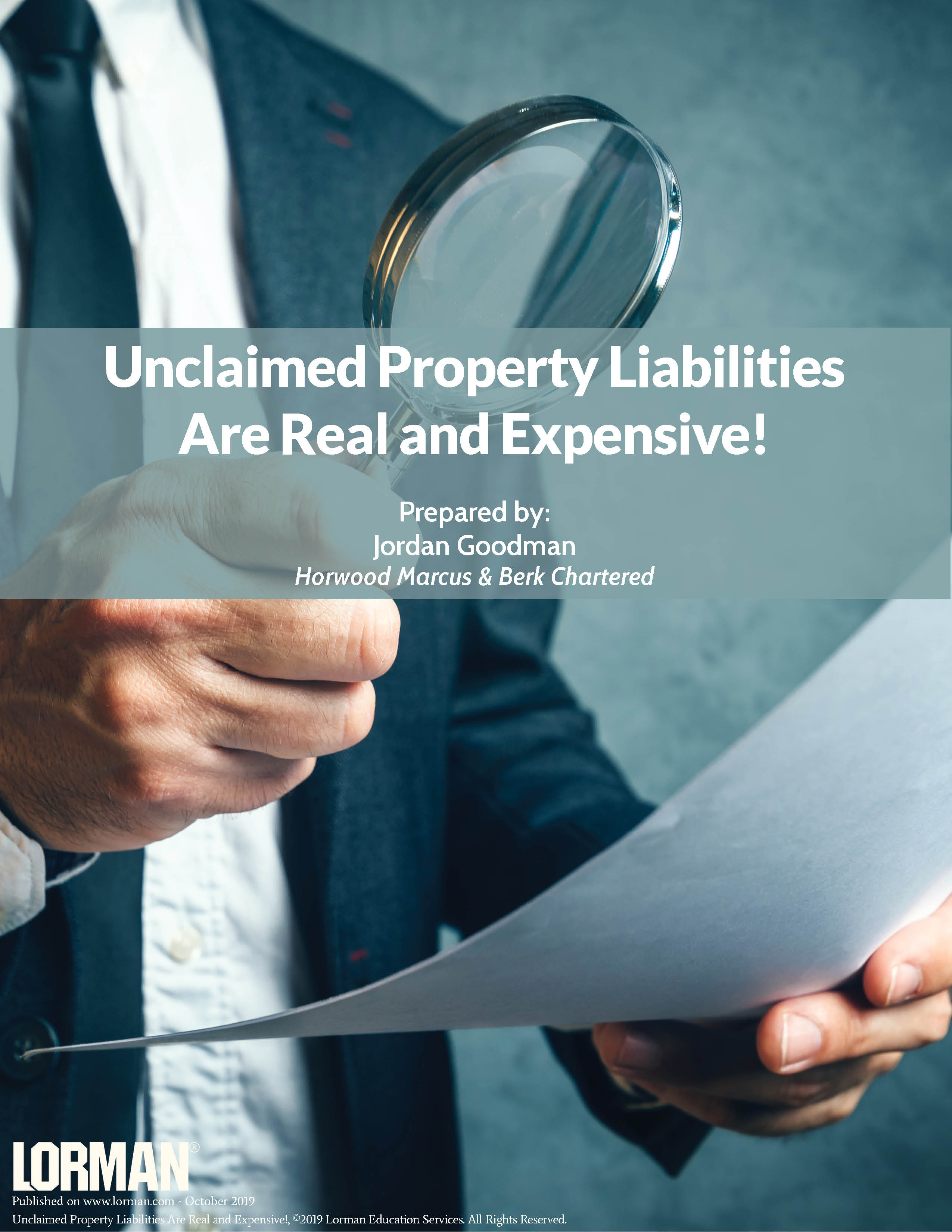 Unclaimed Property Liabilities