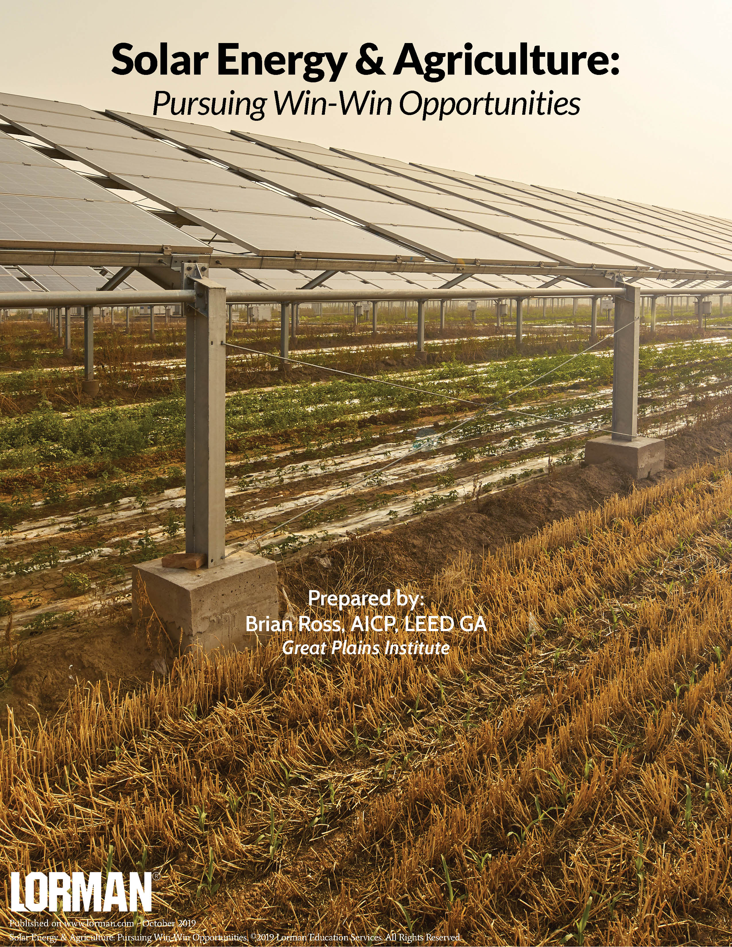 Solar Energy Amp Agriculture White Paper Lorman