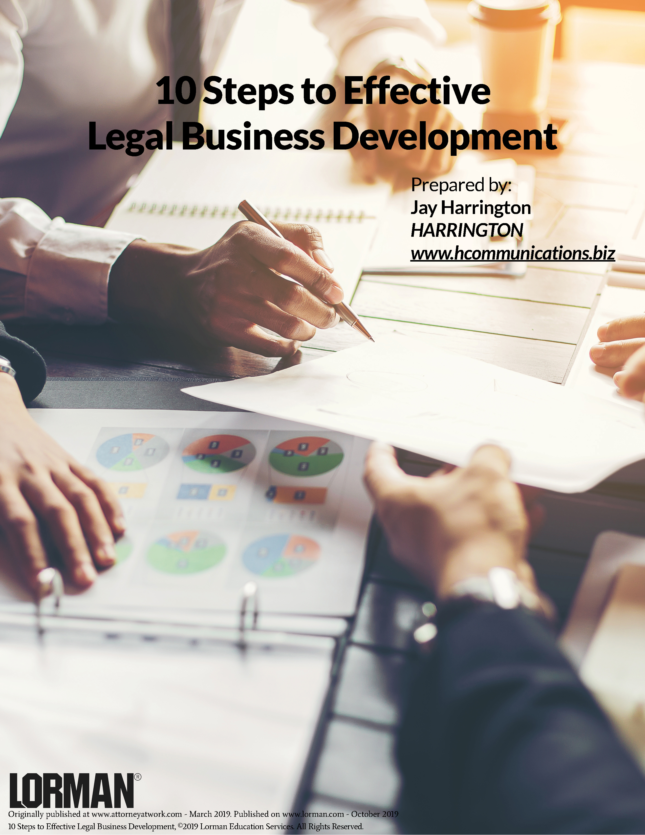 10 Steps to Effective Legal Business Development