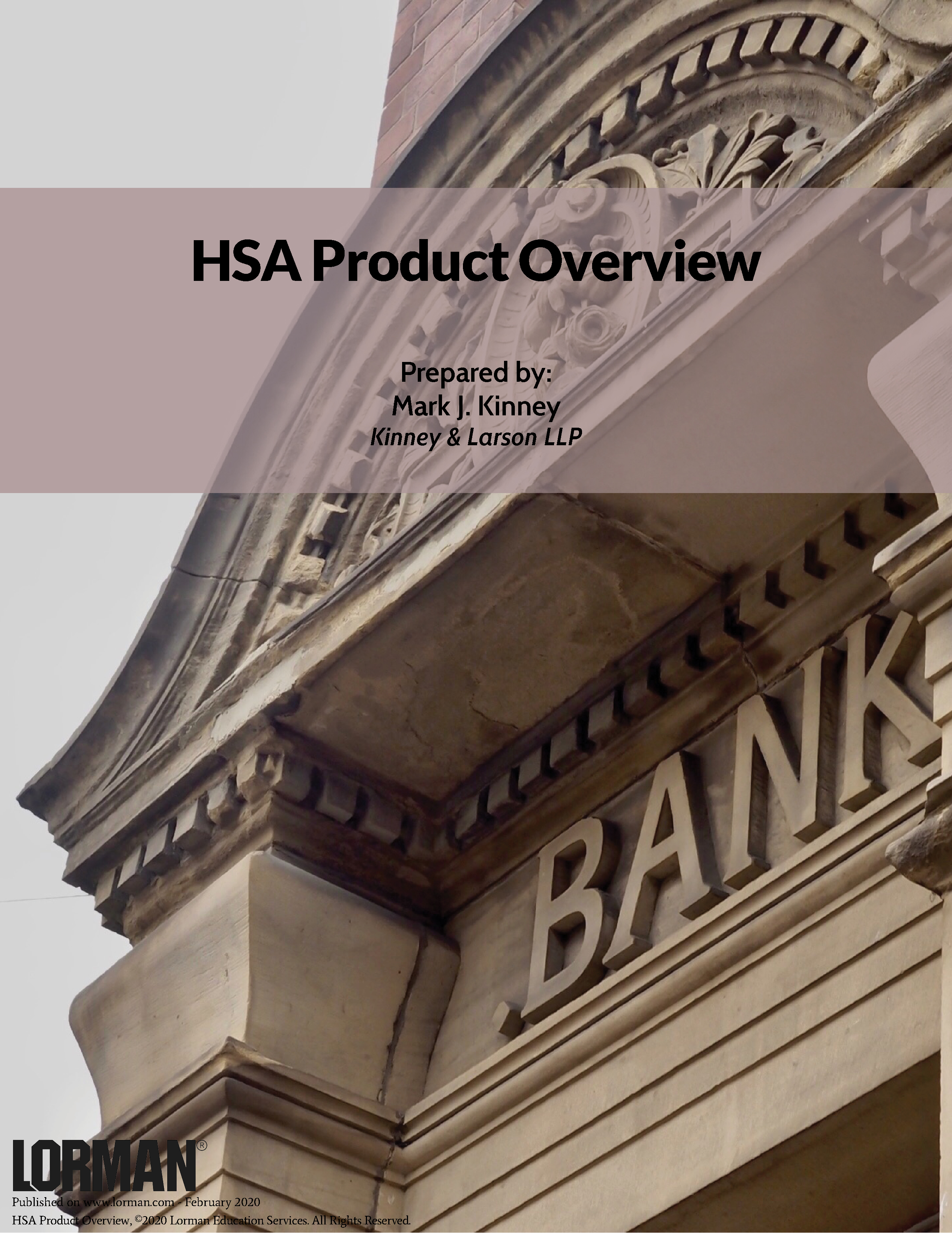 HSA Product Overview