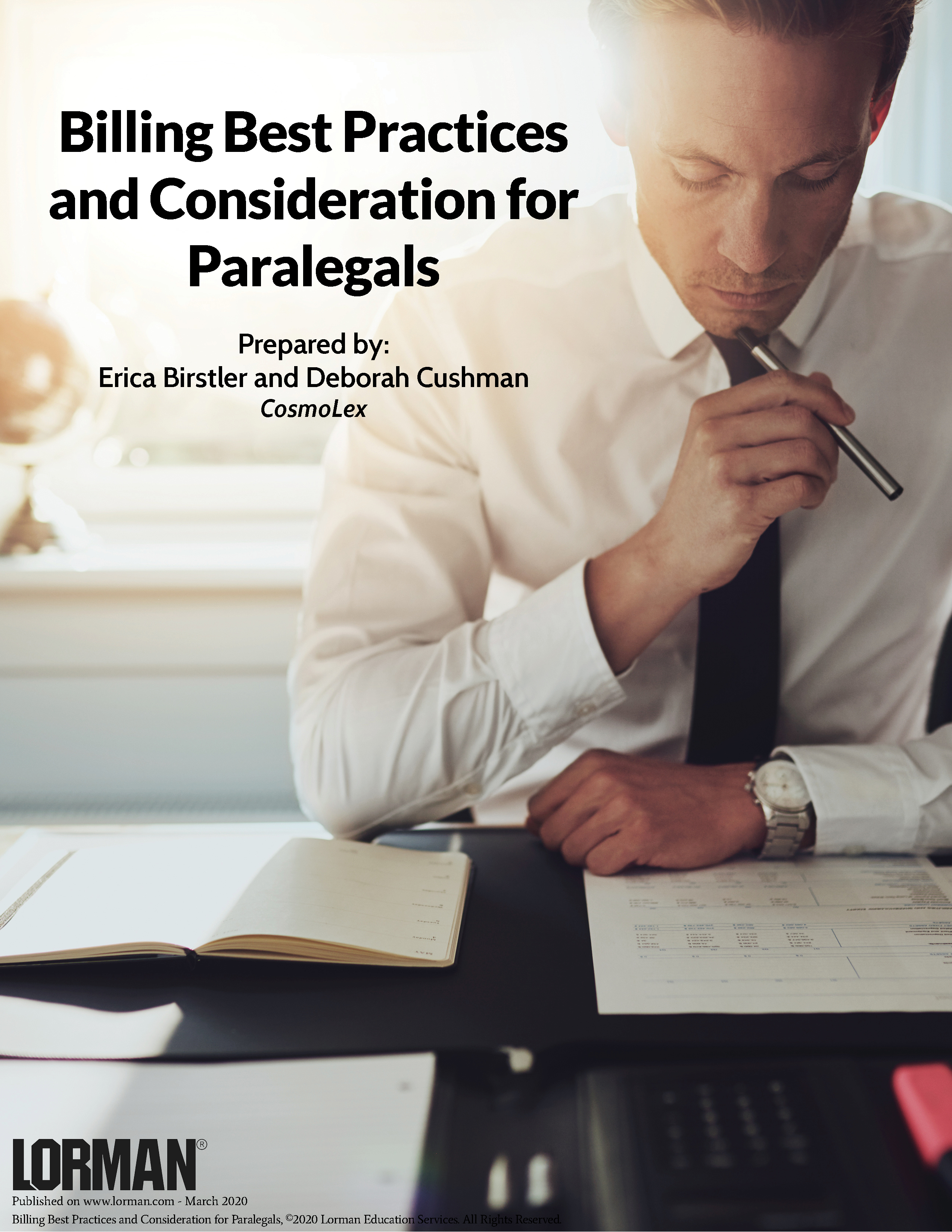 Billing Best Practices and Consideration for Paralegals