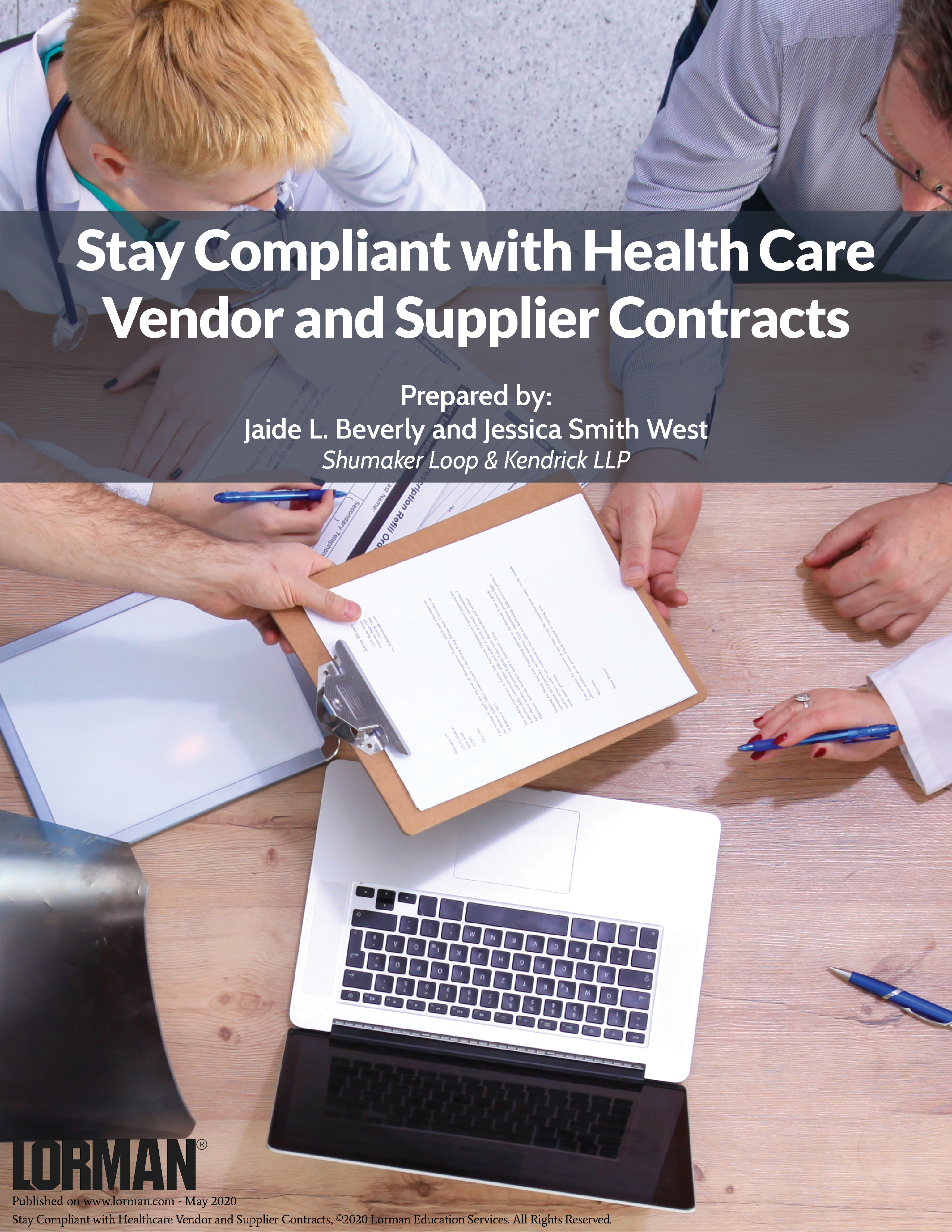 Stay Compliant with Health Care Vendor and Supplier Contracts