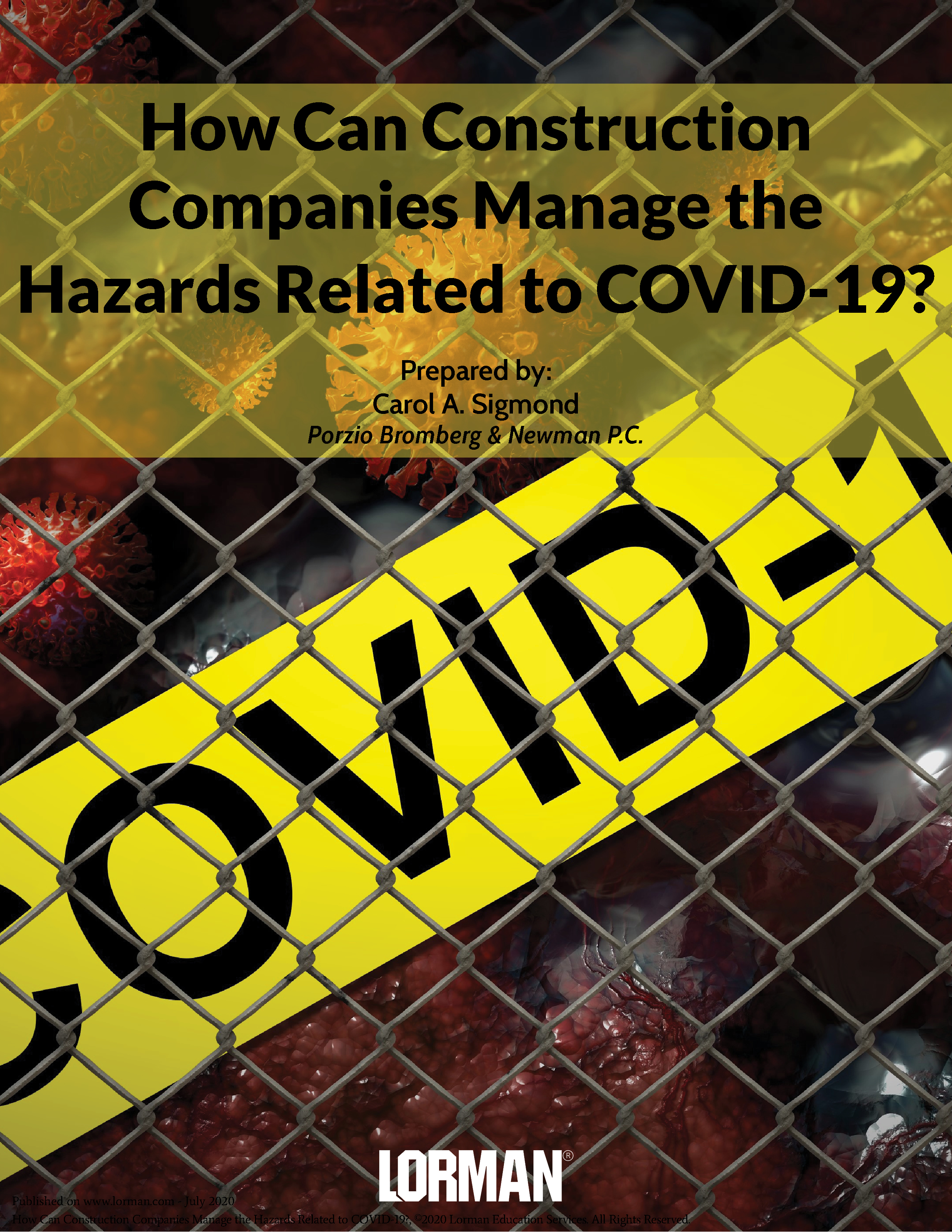 How Can Construction Companies Manage the Hazards Related to COVID-19?