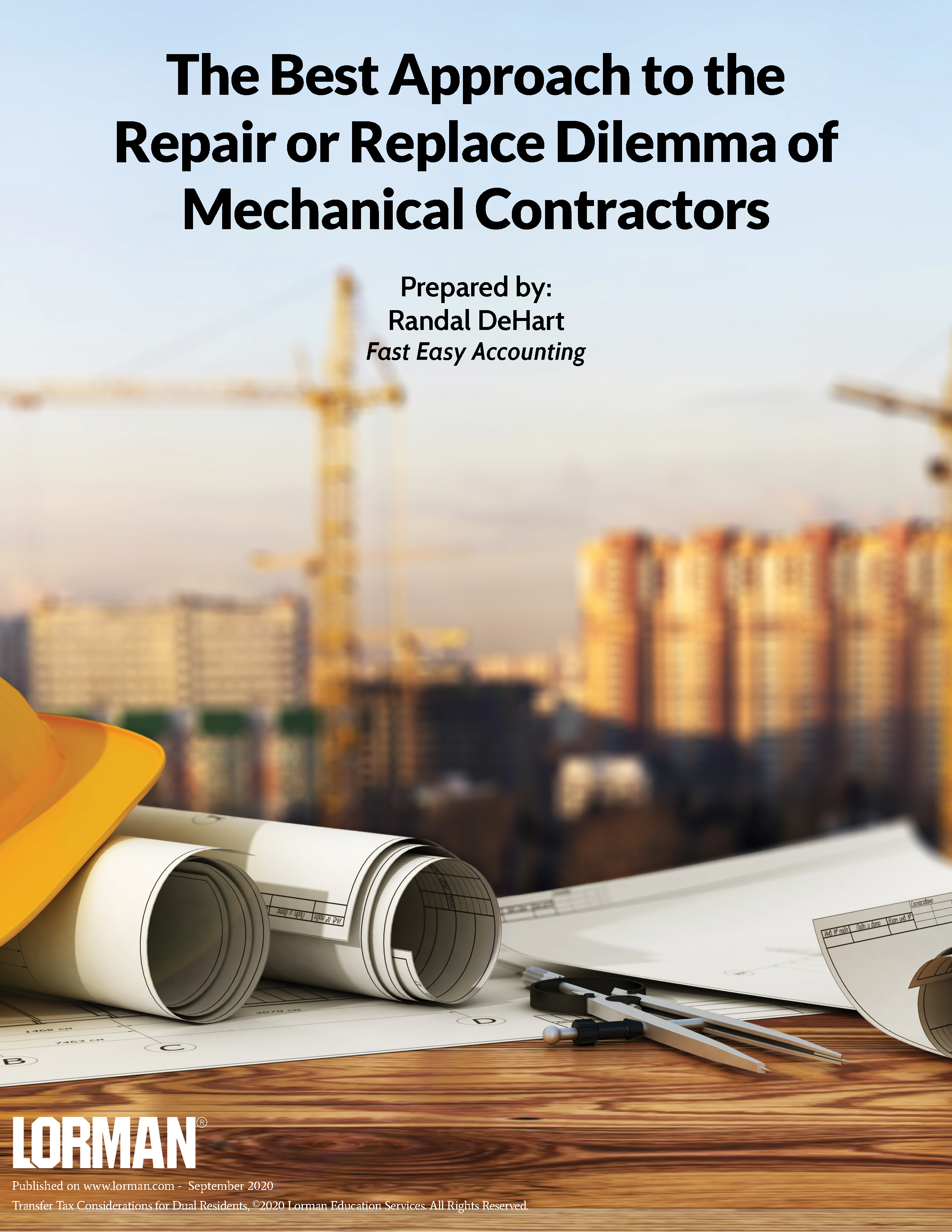 The Best Approach to the Repair or Replace Dilemma of Mechanical Contractors
