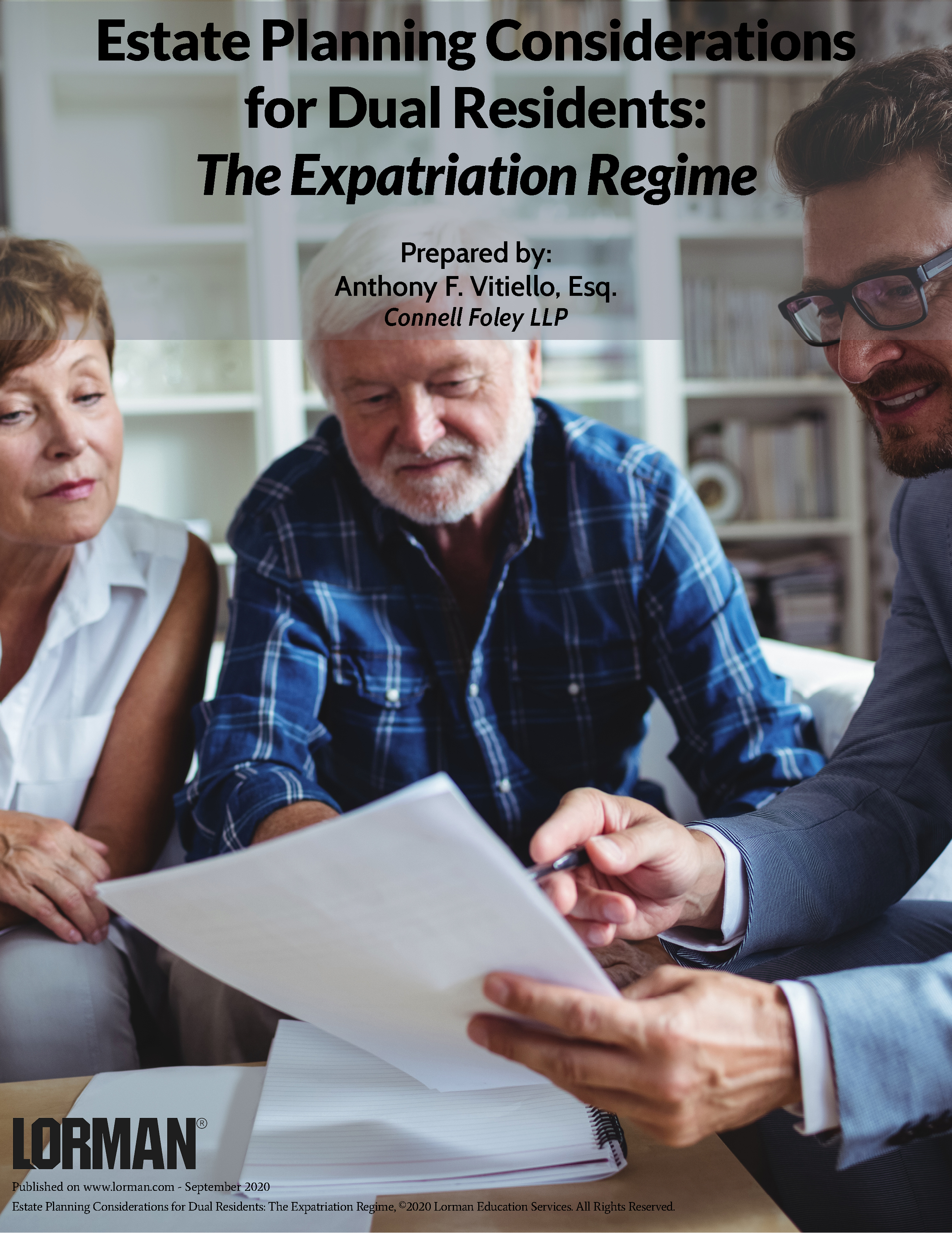 The Expatriation Regime