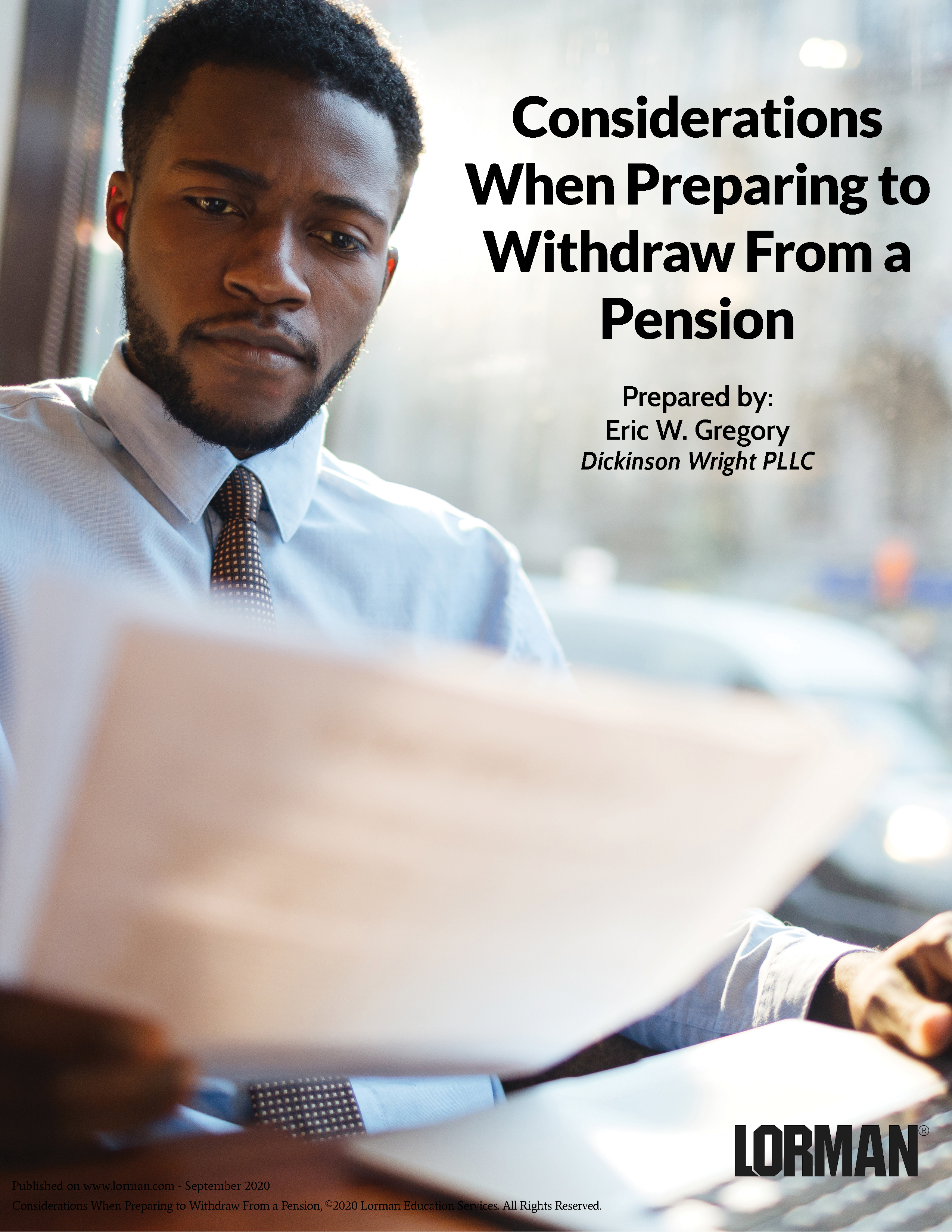 Considerations When Preparing to Withdraw From a Pension