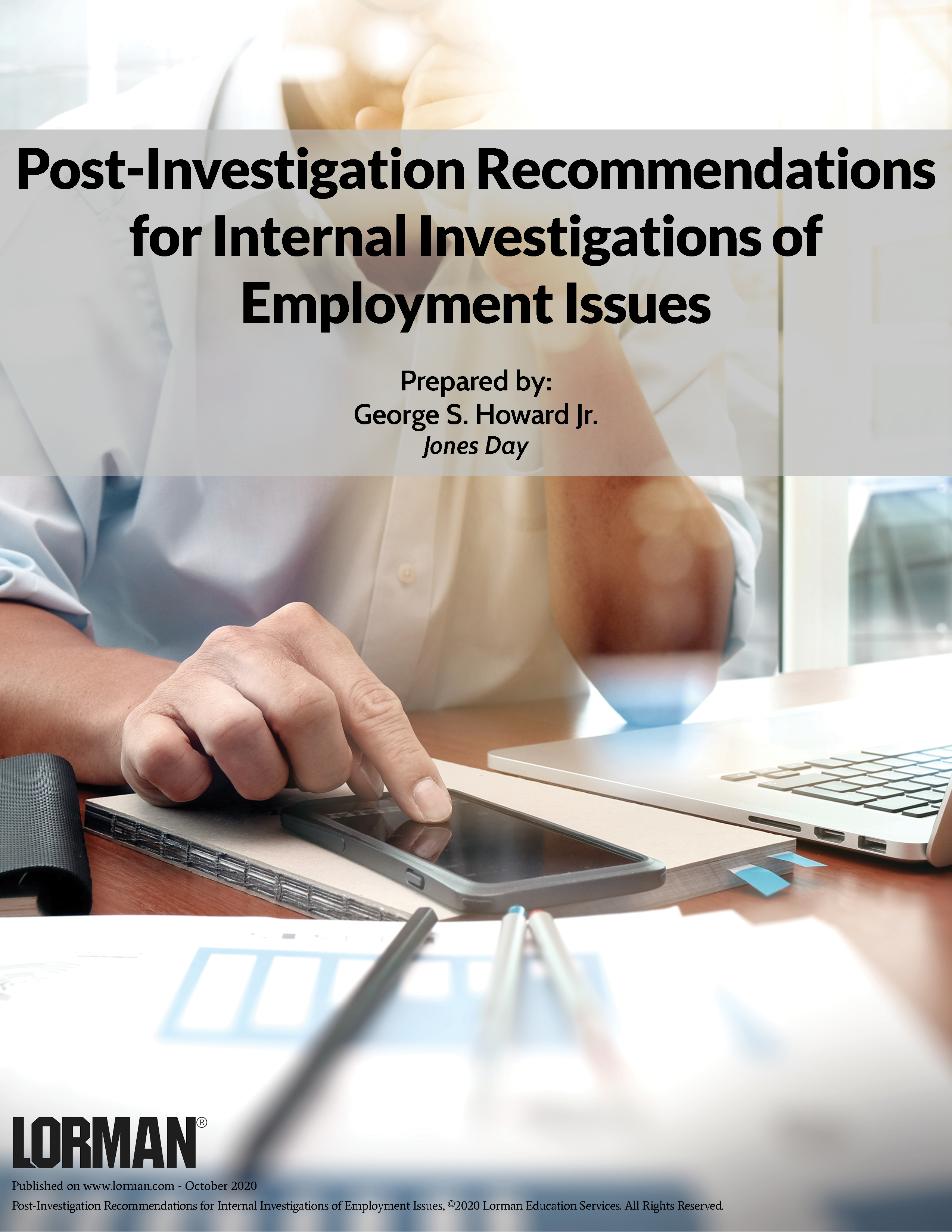 Post-Investigation Recommendations for Internal Investigations of Employment Issues