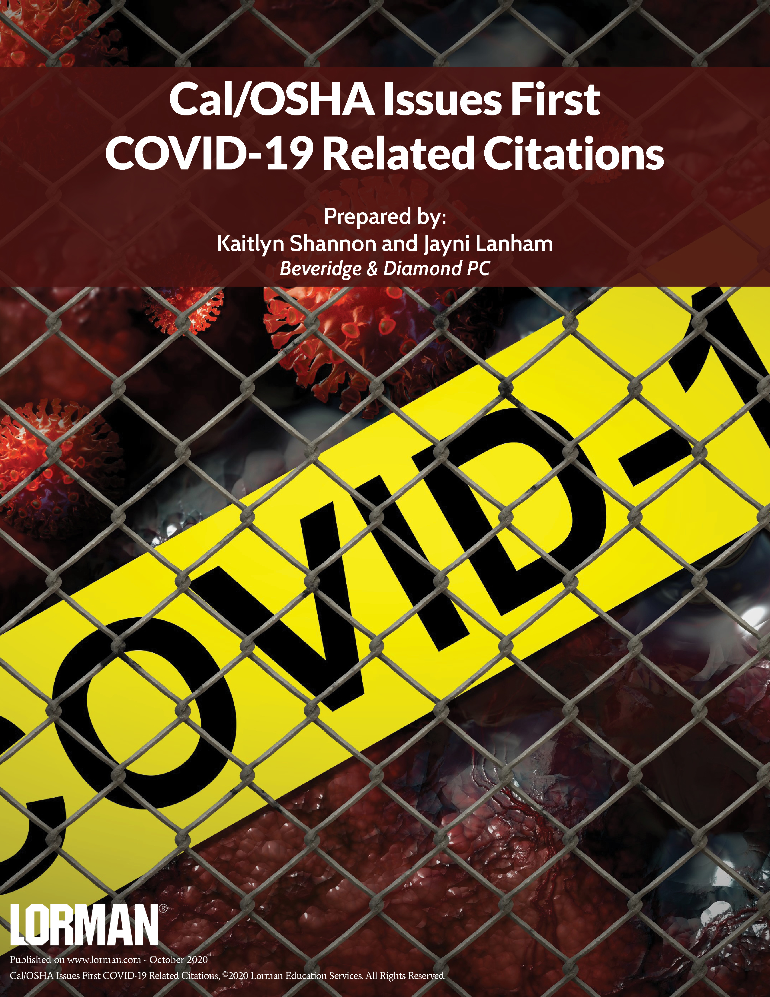 Cal/OSHA Issues First COVID-19 Related Citations