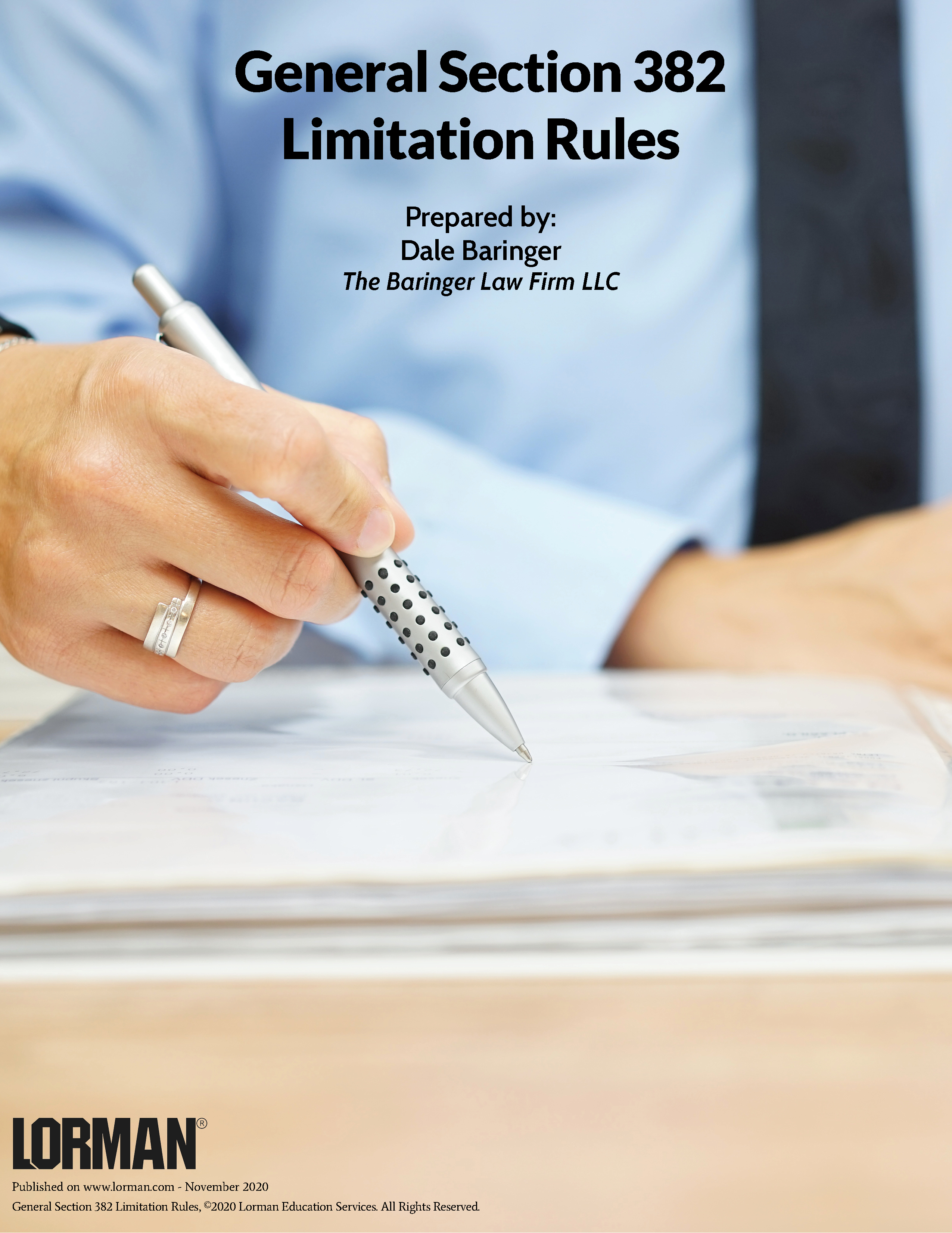 General Section 382 Limitation Rules
