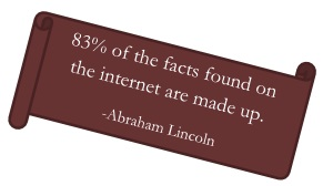 Facts on the internet