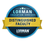Lorman Education Service | Distinguished Faculty Member